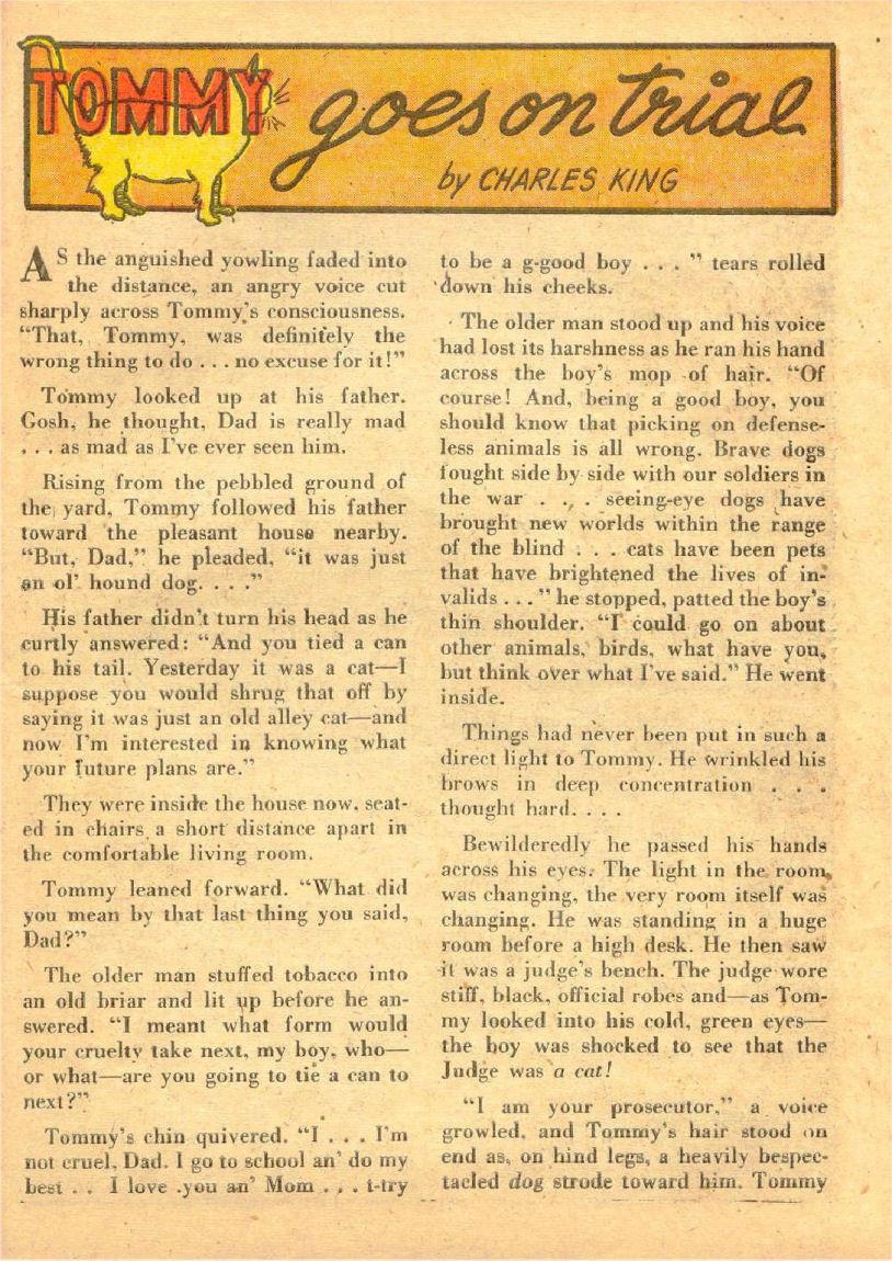 Read online Sensation (Mystery) Comics comic -  Issue #70 - 40