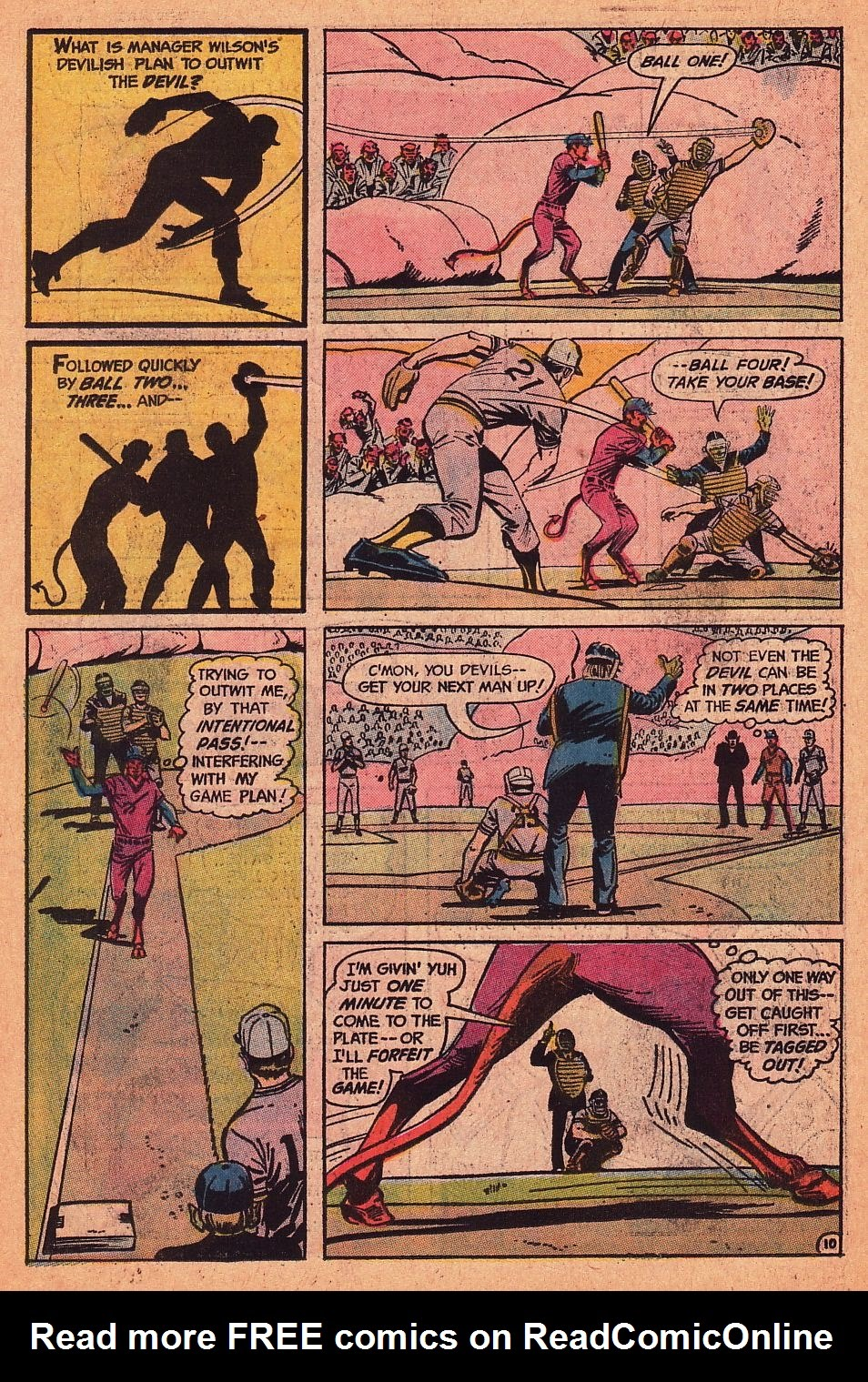 Read online Strange Sports Stories (1973) comic -  Issue #1 - 11