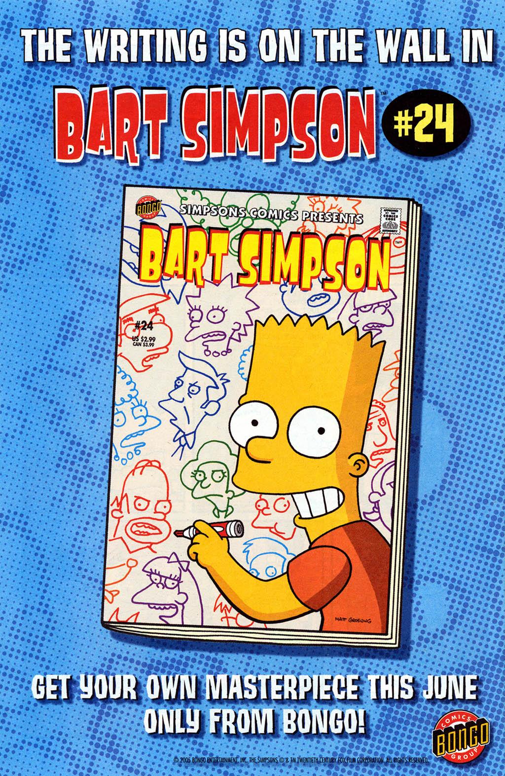 Read online Simpsons Comics Presents Bart Simpson comic -  Issue #23 - 32