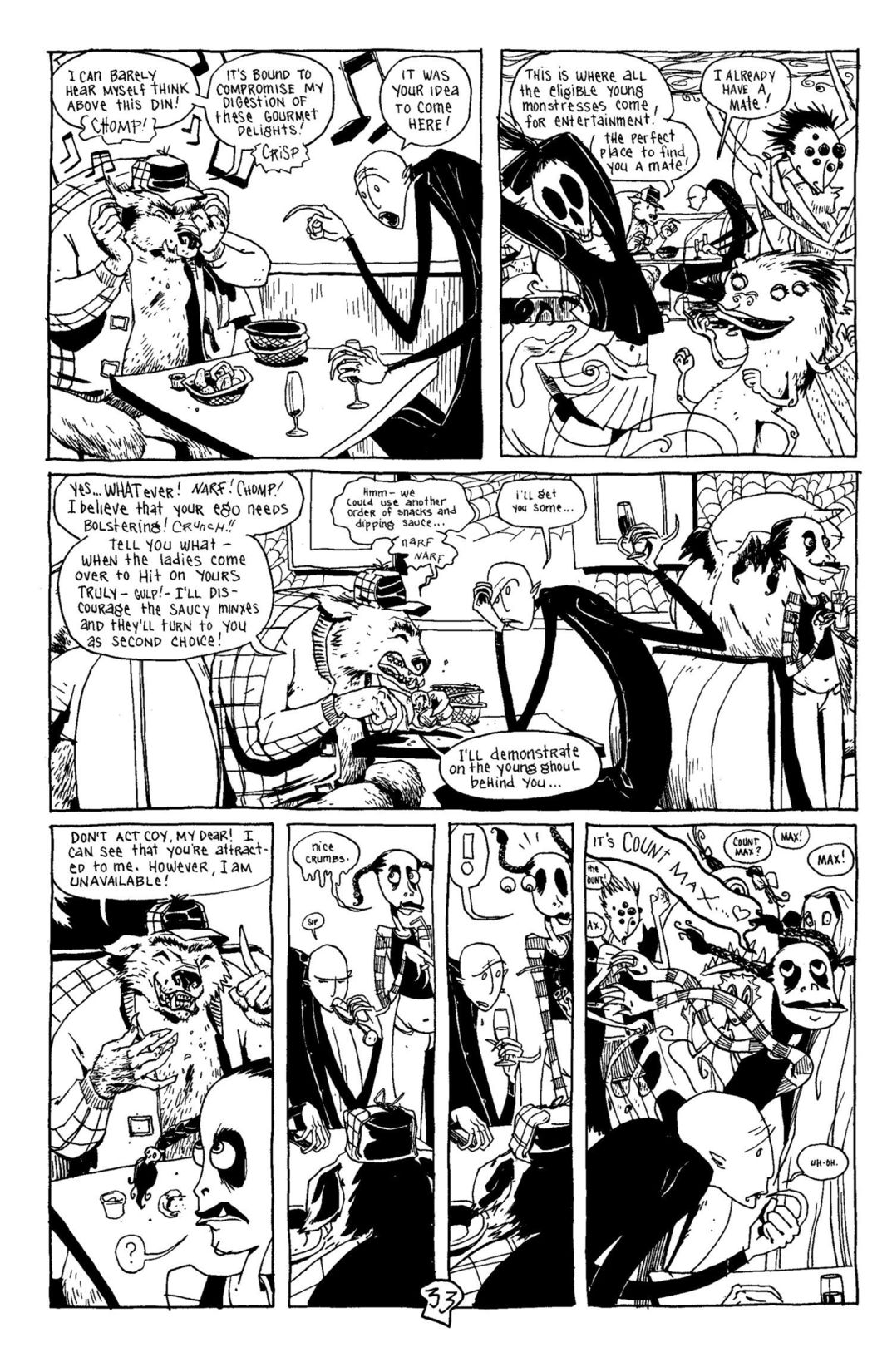 Read online Scary Godmother Comic Book Stories comic -  Issue # TPB - 34