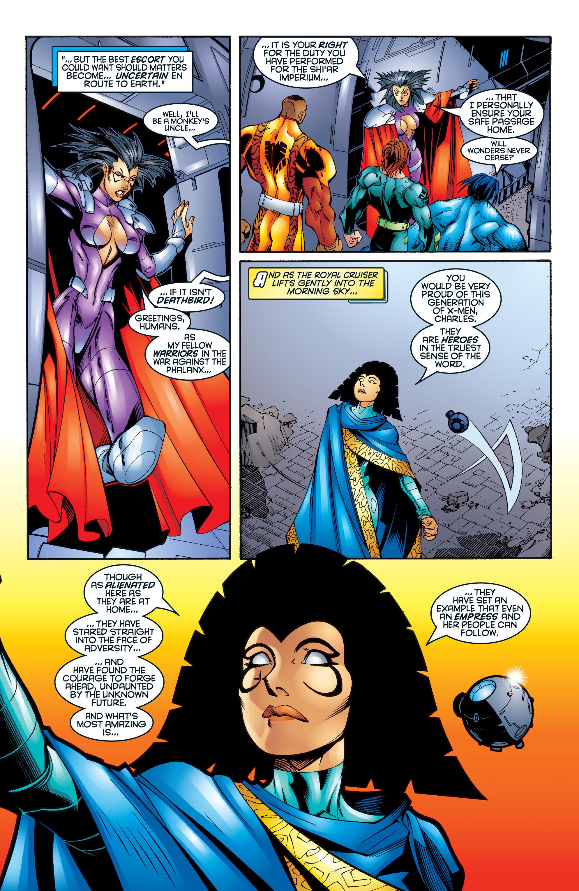 Read online Uncanny X-Men (1963) comic -  Issue #345 - 16