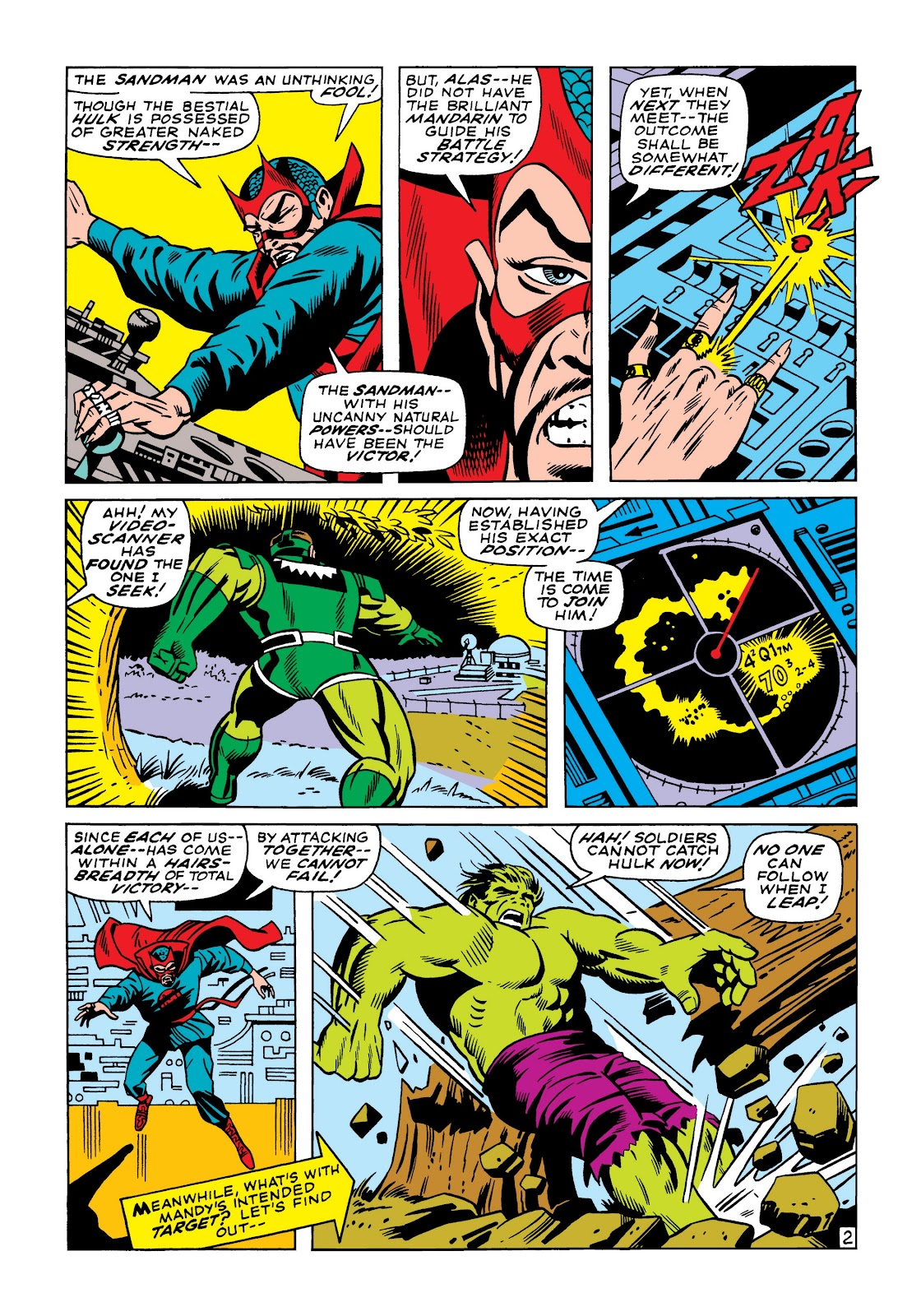 Read online Marvel Masterworks: The Incredible Hulk comic -  Issue # TPB 5 (Part 1) - 71