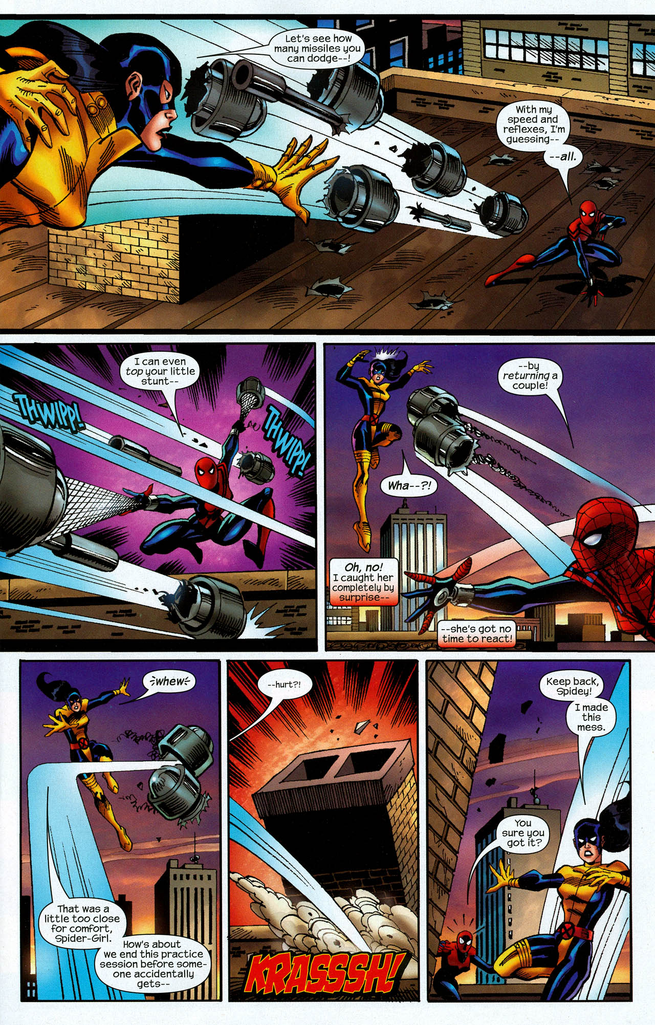 Read online Amazing Spider-Girl comic -  Issue #22 - 5