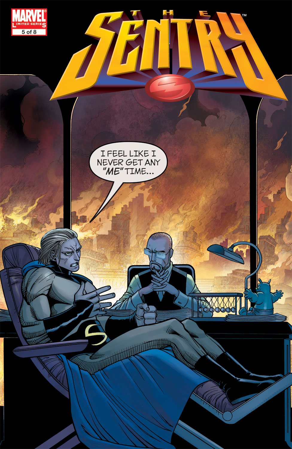 Read online Sentry (2006) comic -  Issue #5 - 1