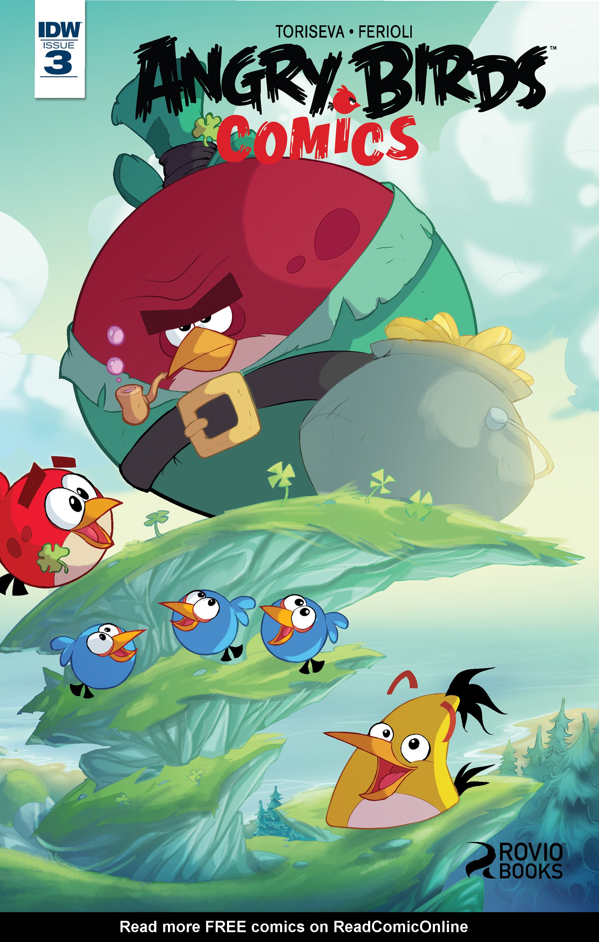 Read online Angry Birds Comics (2016) comic -  Issue #3 - 1