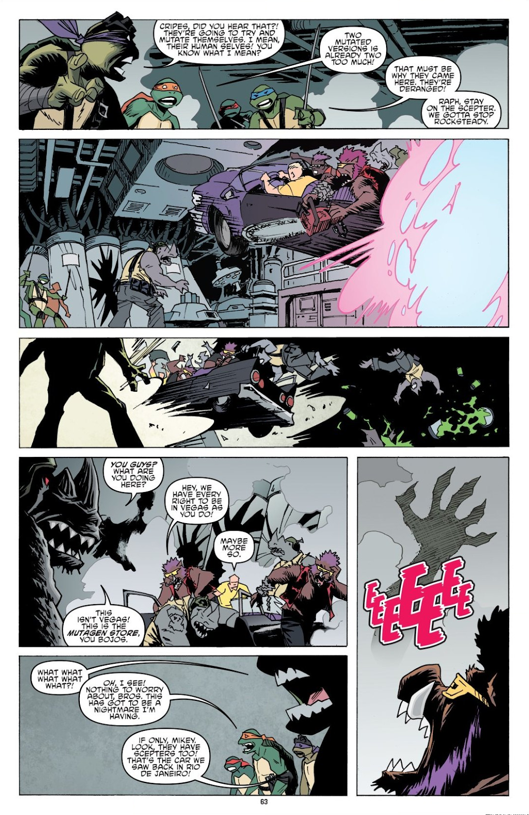Read online Teenage Mutant Ninja Turtles: The IDW Collection comic -  Issue # TPB 8 (Part 1) - 63