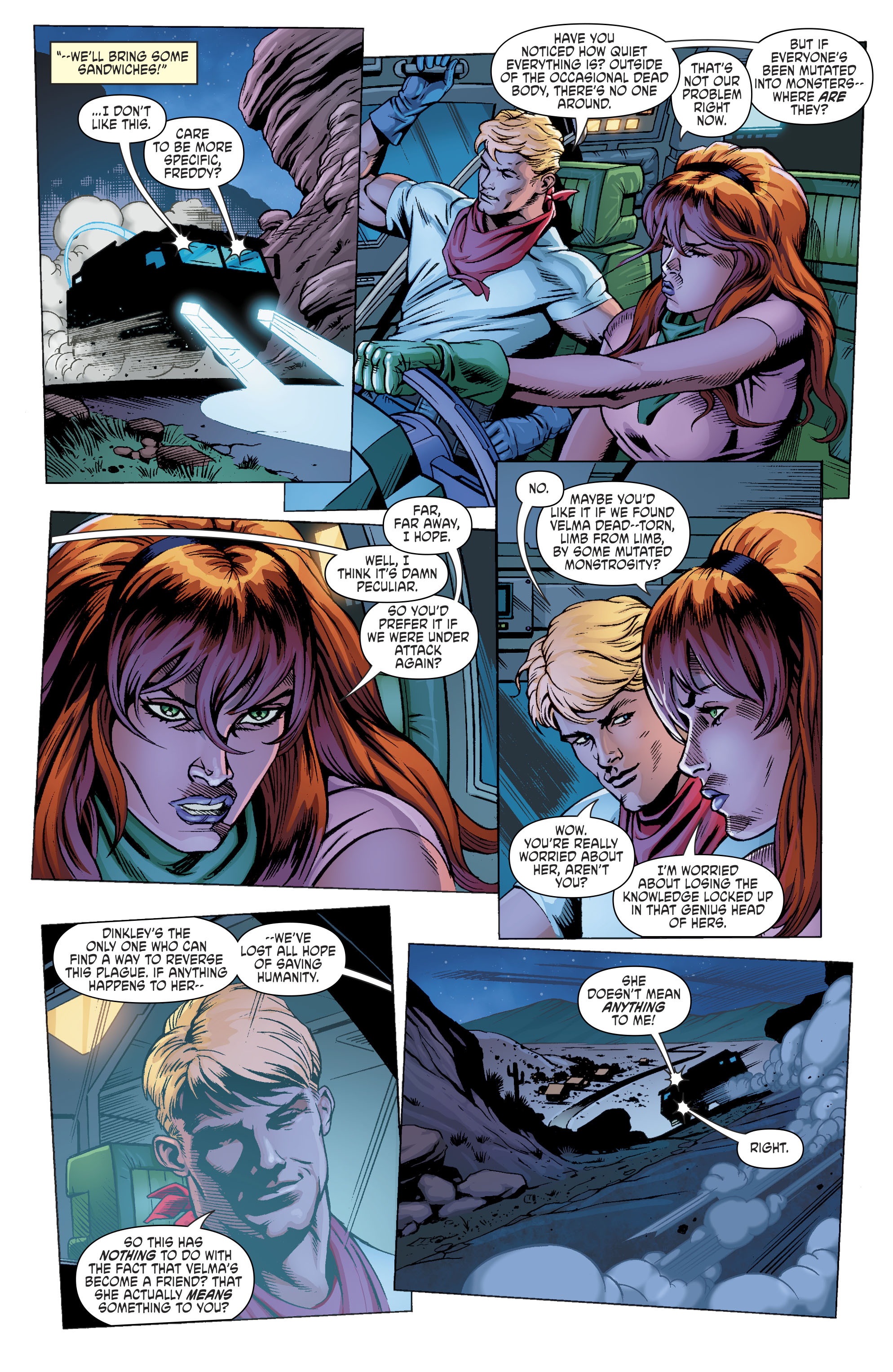 Read online Scooby Apocalypse comic -  Issue #11 - 12