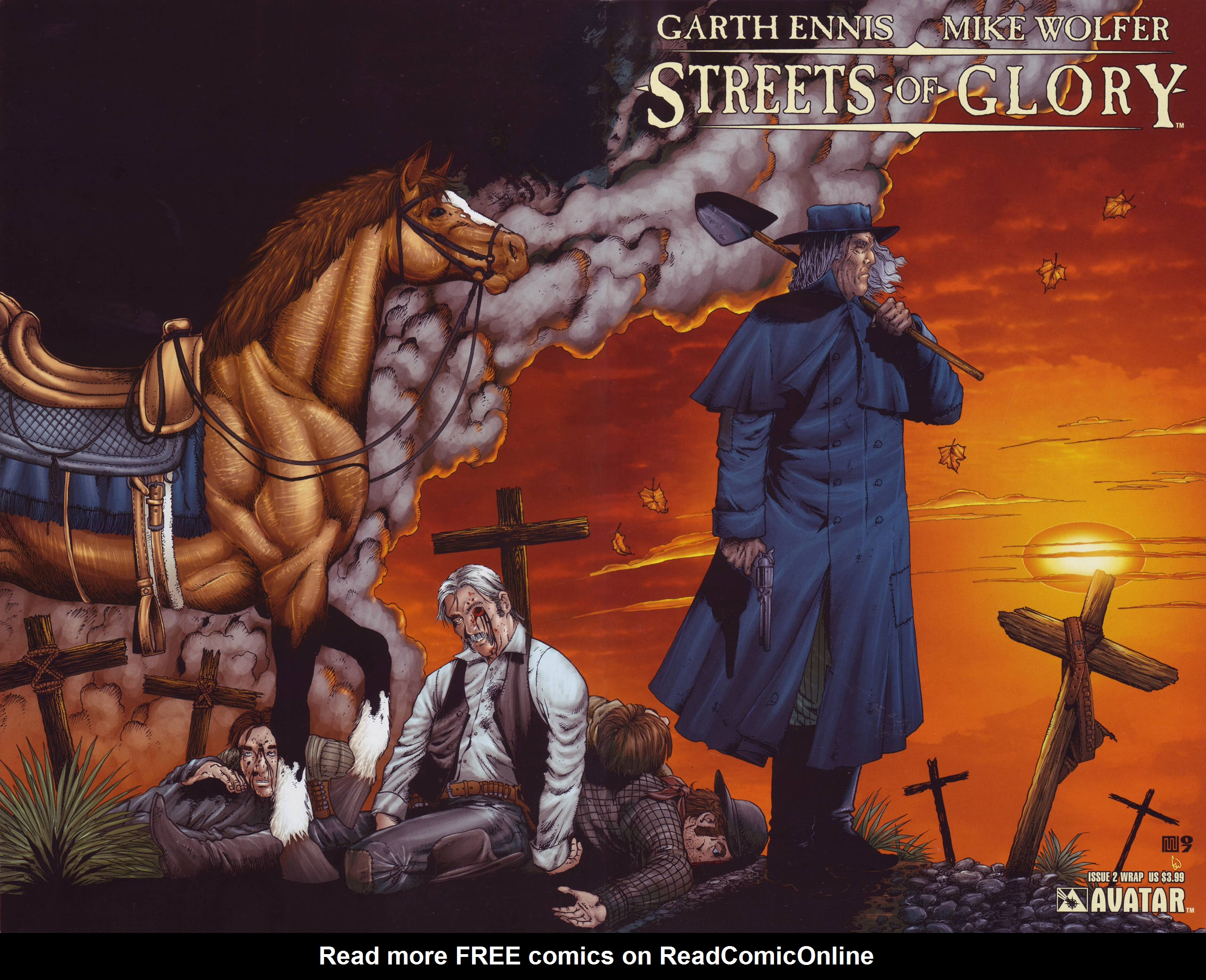 Read online Garth Ennis' Streets of Glory comic -  Issue #2 - 1