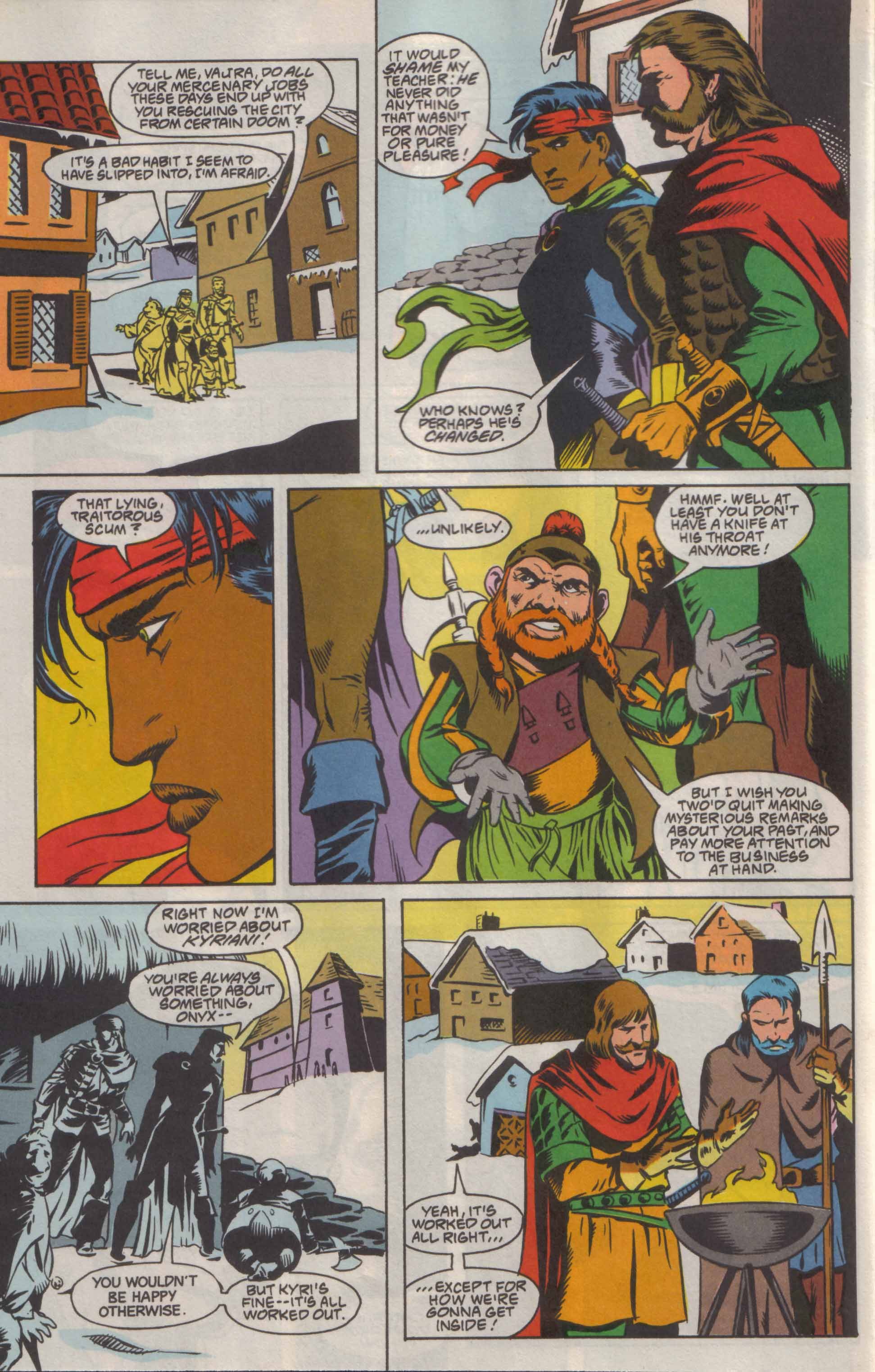 Read online Advanced Dungeons & Dragons comic -  Issue #8 - 7