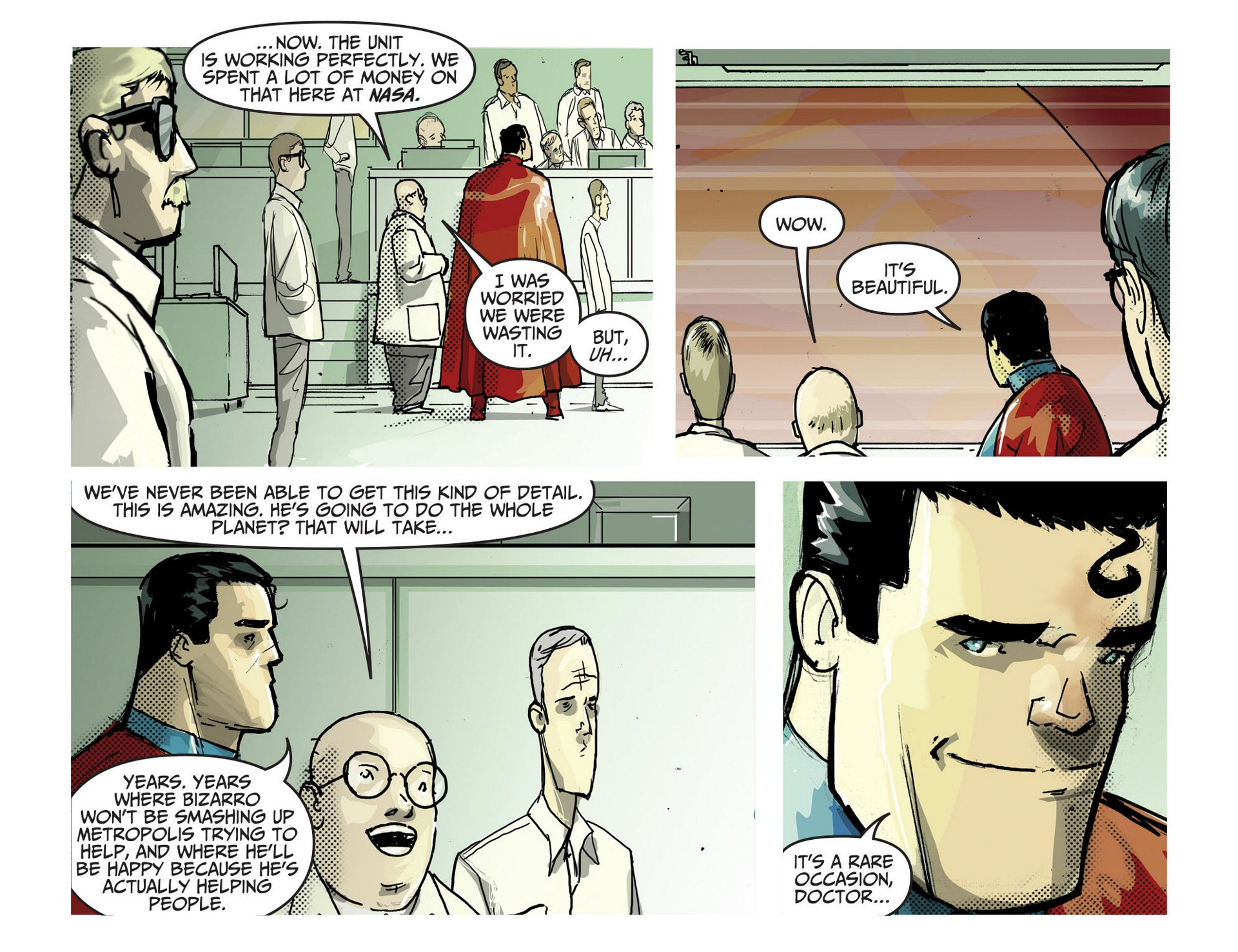 Read online Adventures of Superman [I] comic -  Issue #3 - 21
