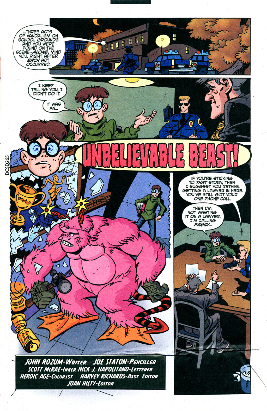 Read online Scooby-Doo (1997) comic -  Issue #88 - 2
