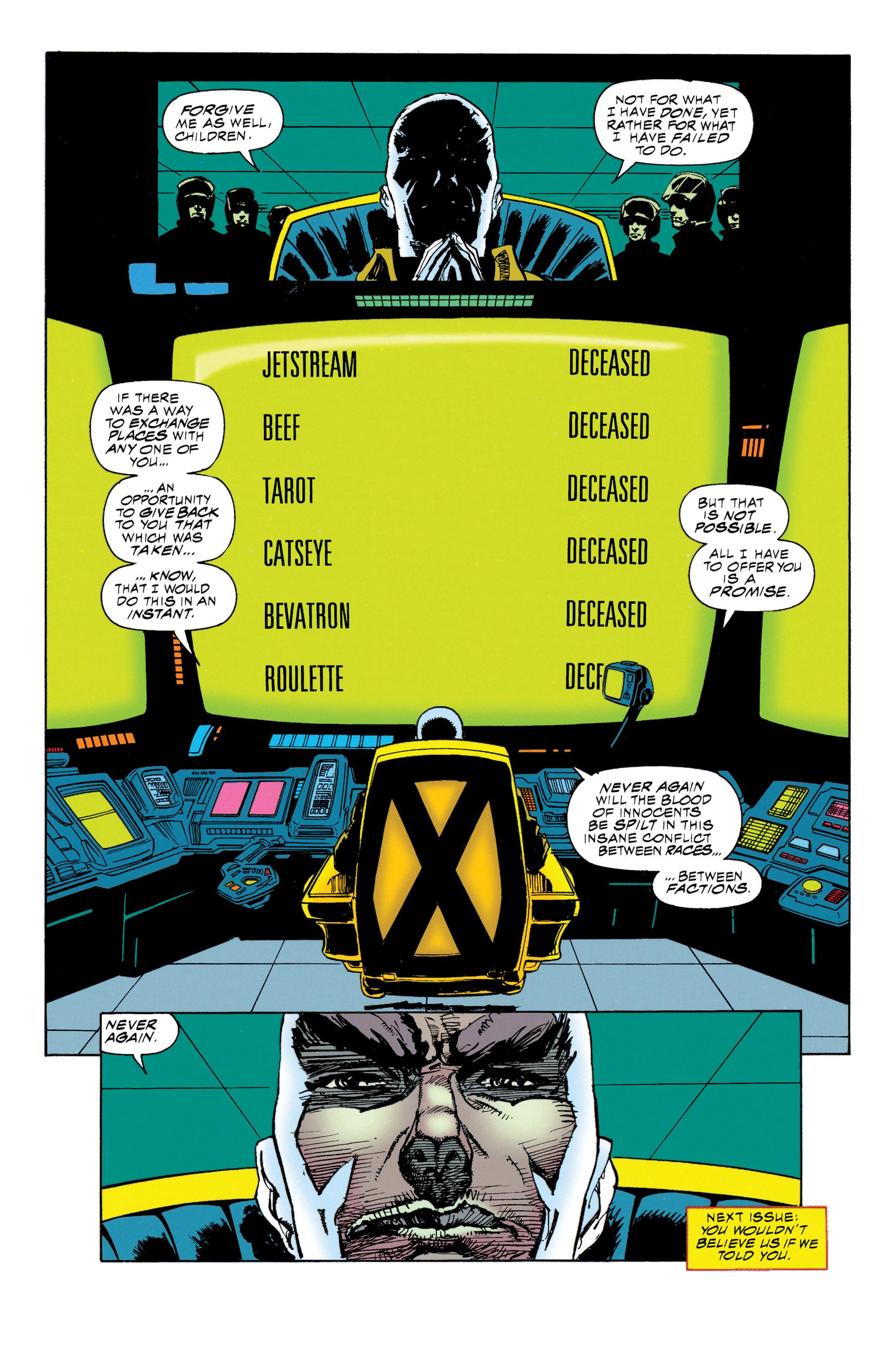 Read online Uncanny X-Men (1963) comic -  Issue #314 - 23