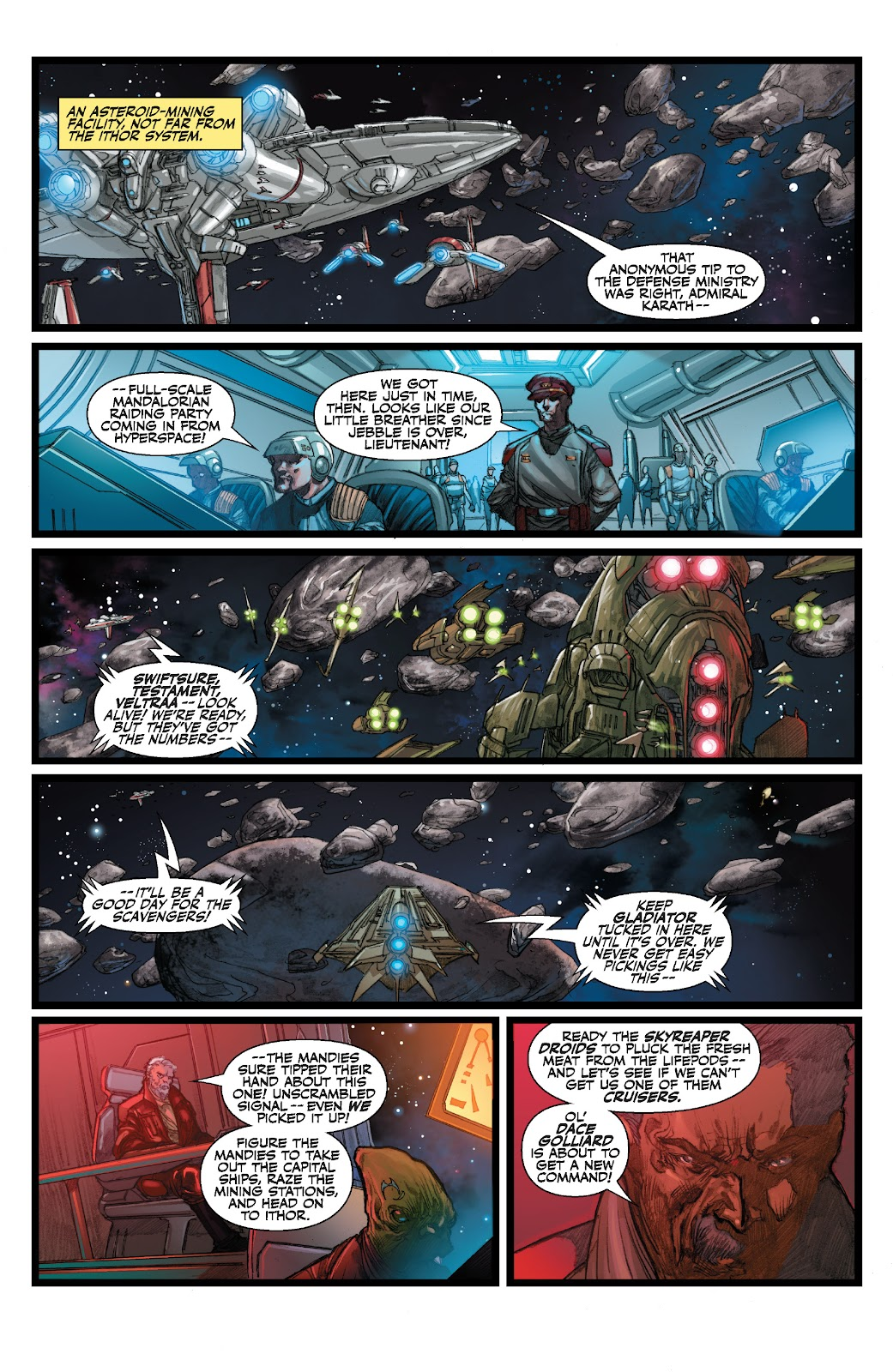 Read online Star Wars Legends: The Old Republic - Epic Collection comic -  Issue # TPB 3 (Part 3) - 58