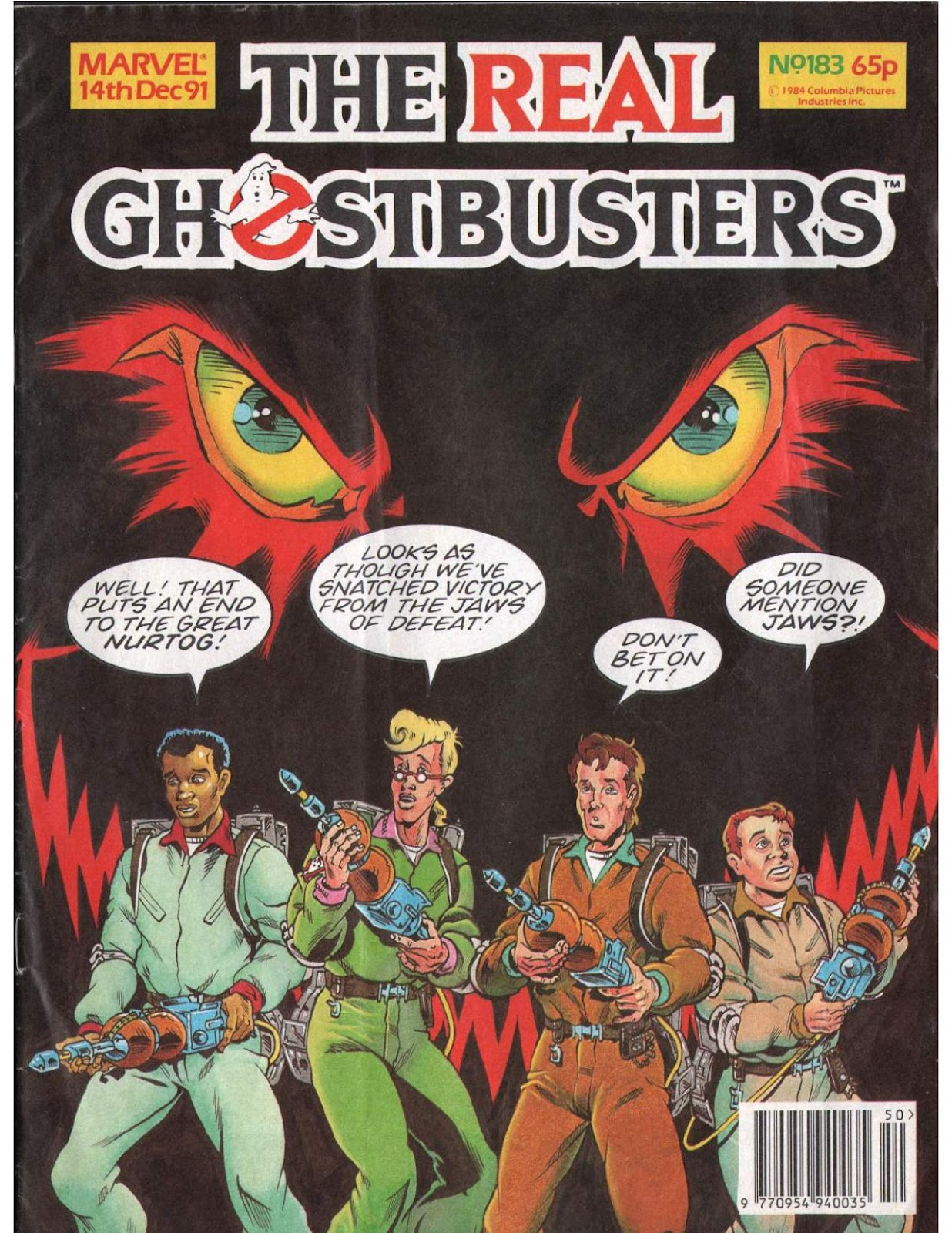 The Real Ghostbusters 183 Page 1