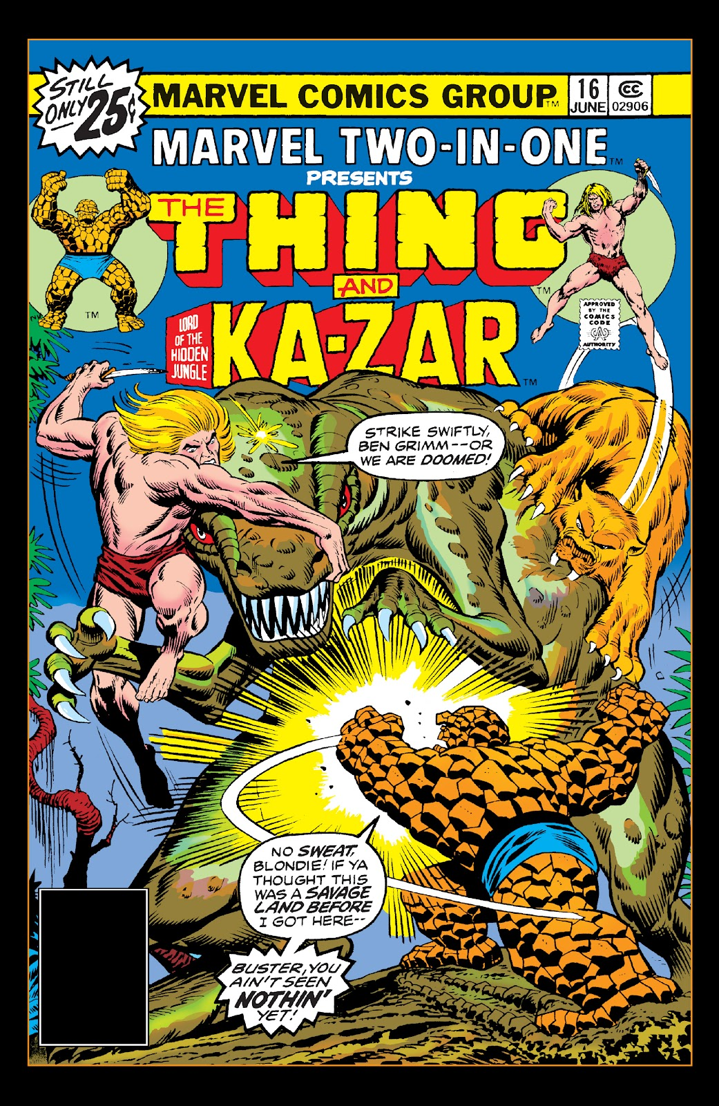 Read online Marvel Two-In-One Epic Collection: Cry Monster comic -  Issue # TPB (Part 4) - 30
