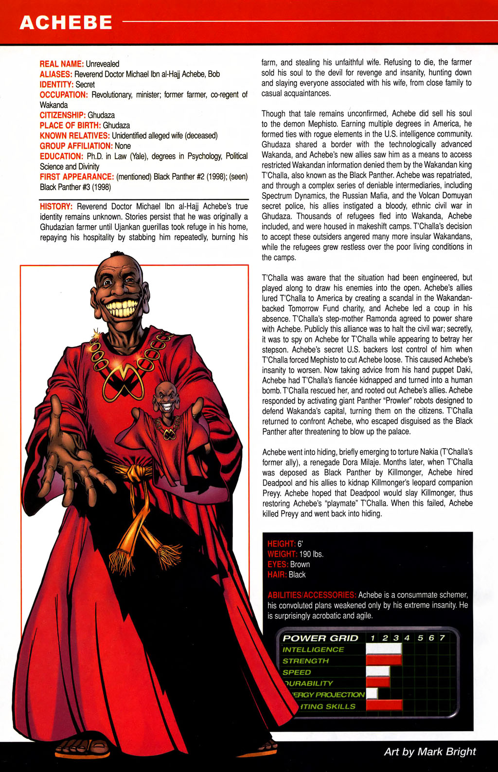 Read online All-New Official Handbook of the Marvel Universe A to Z comic -  Issue #1 - 6