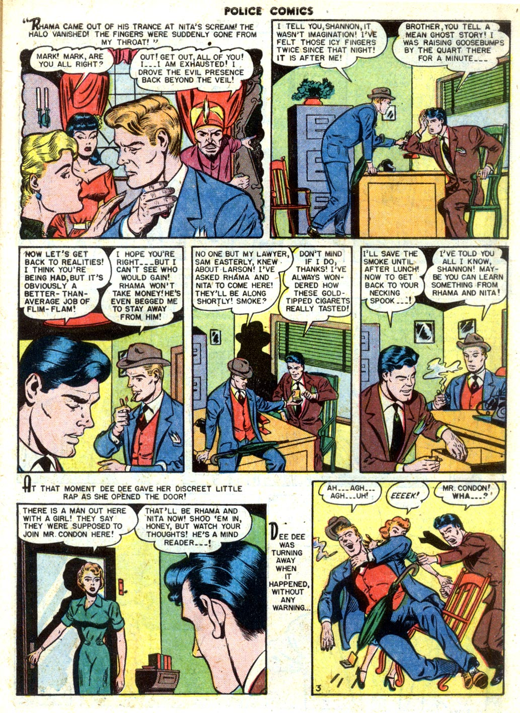 Police Comics issue 105 - Page 5