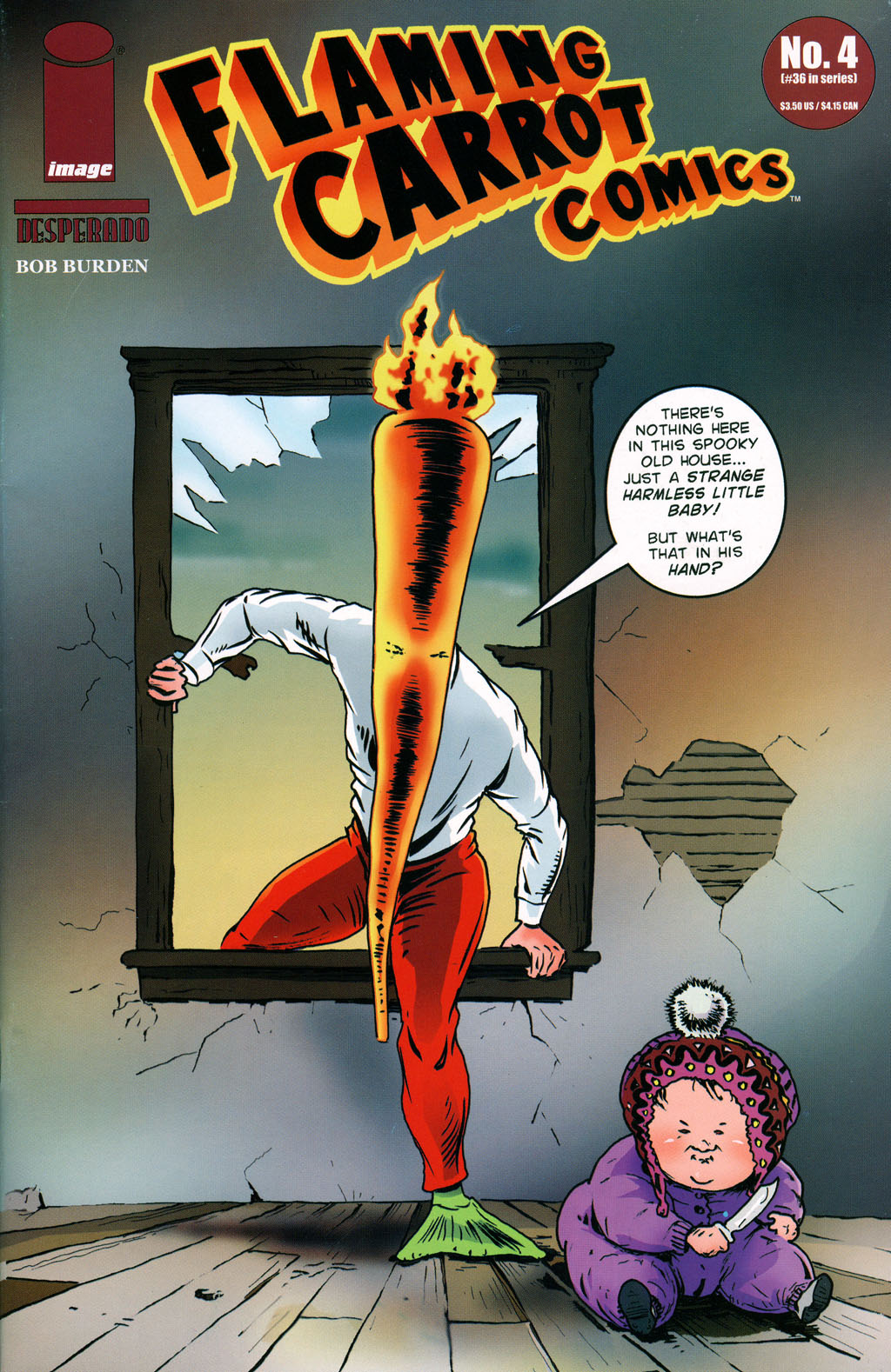 Read online Flaming Carrot Comics (2004) comic -  Issue #4 - 1