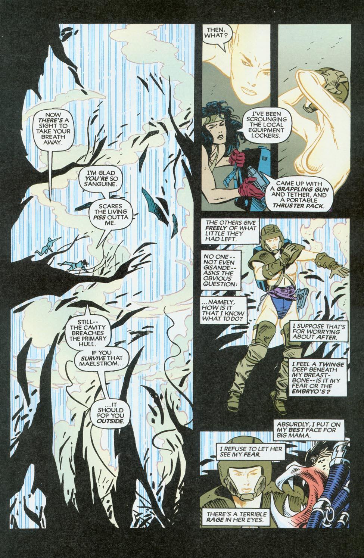 Read online Aliens/Predator: The Deadliest of the Species comic -  Issue #9 - 21
