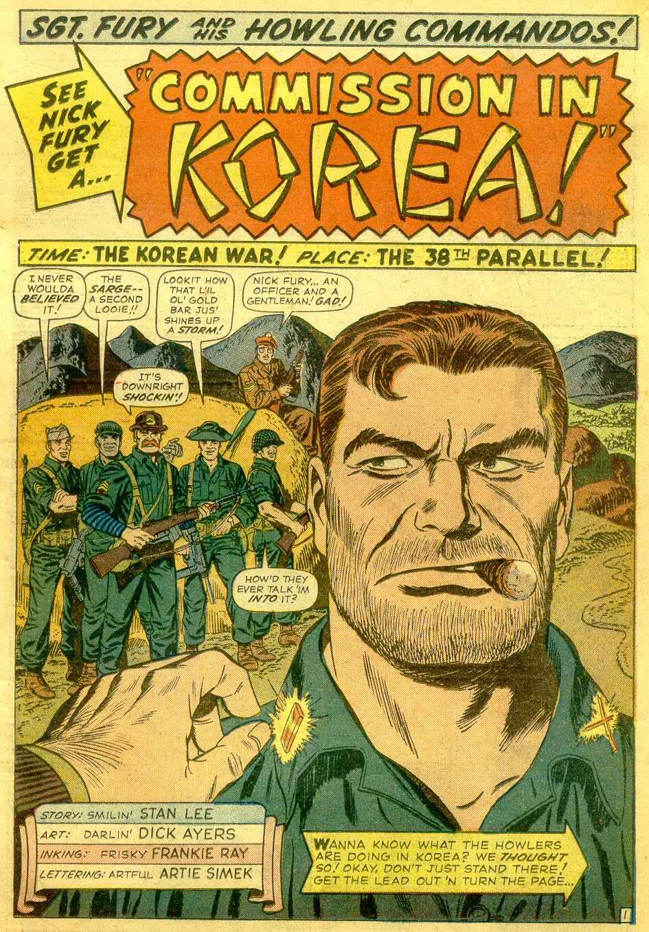 Read online Sgt. Fury comic -  Issue # _Annual 1 - 3