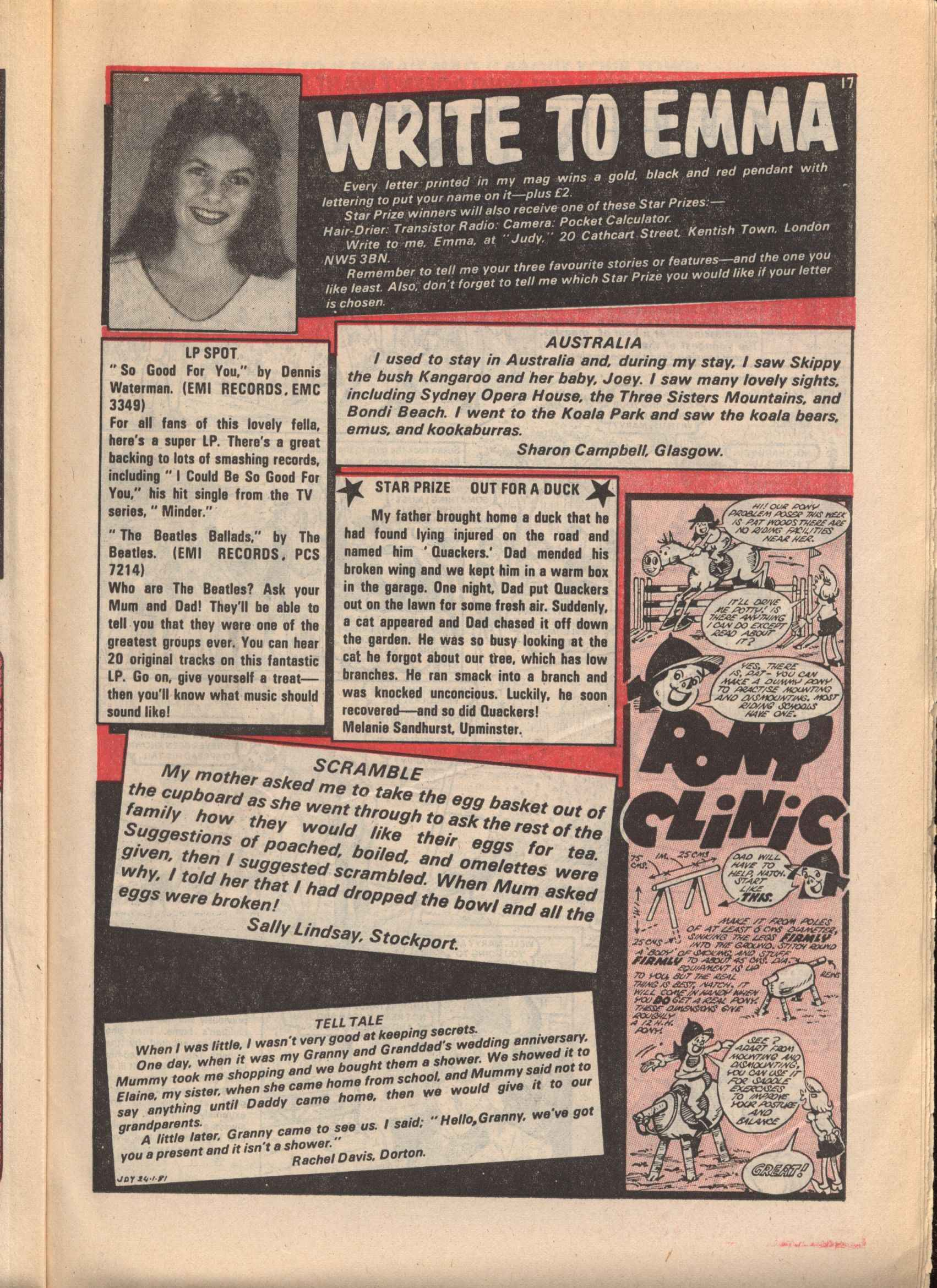 Read online Judy comic -  Issue #98 - 17