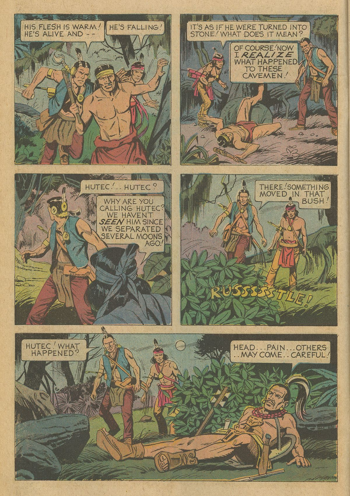 Read online Turok, Son of Stone comic -  Issue #95 - 6