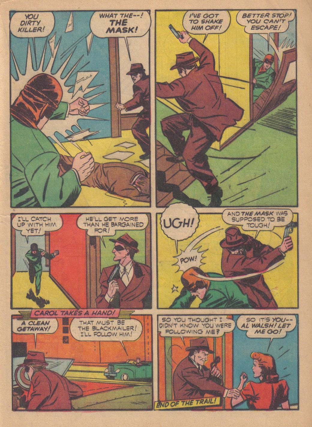 Exciting Comics (1940) issue 13 - Page 39