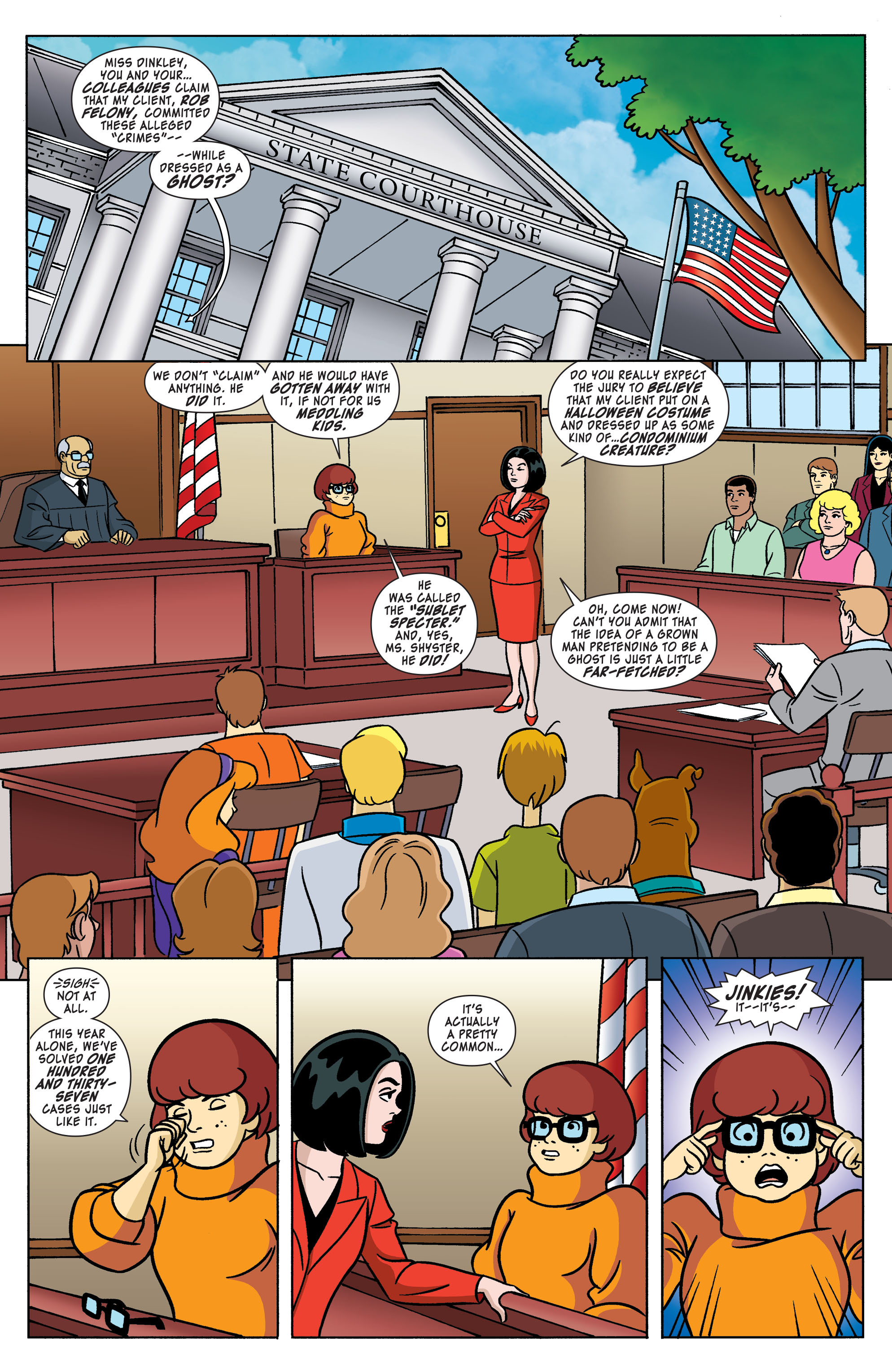 Read online Scooby-Doo: Where Are You? comic -  Issue #61 - 2