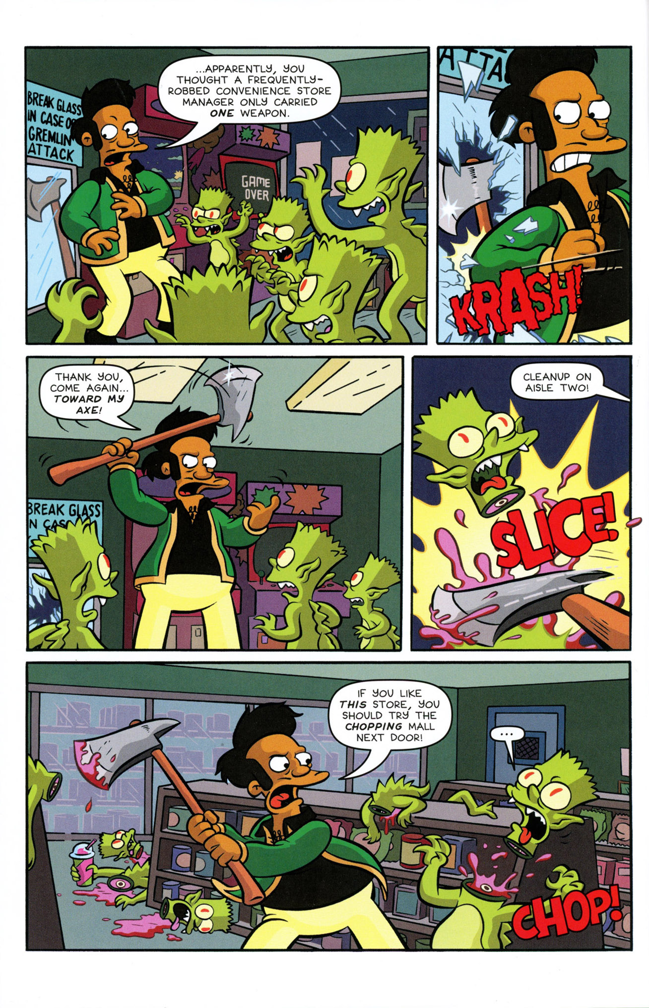 Read online Treehouse of Horror comic -  Issue #21 - 8