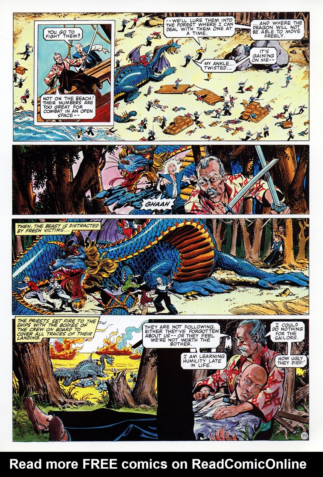 Read online Epic Graphic Novel: Last of the Dragons comic -  Issue # Full - 40
