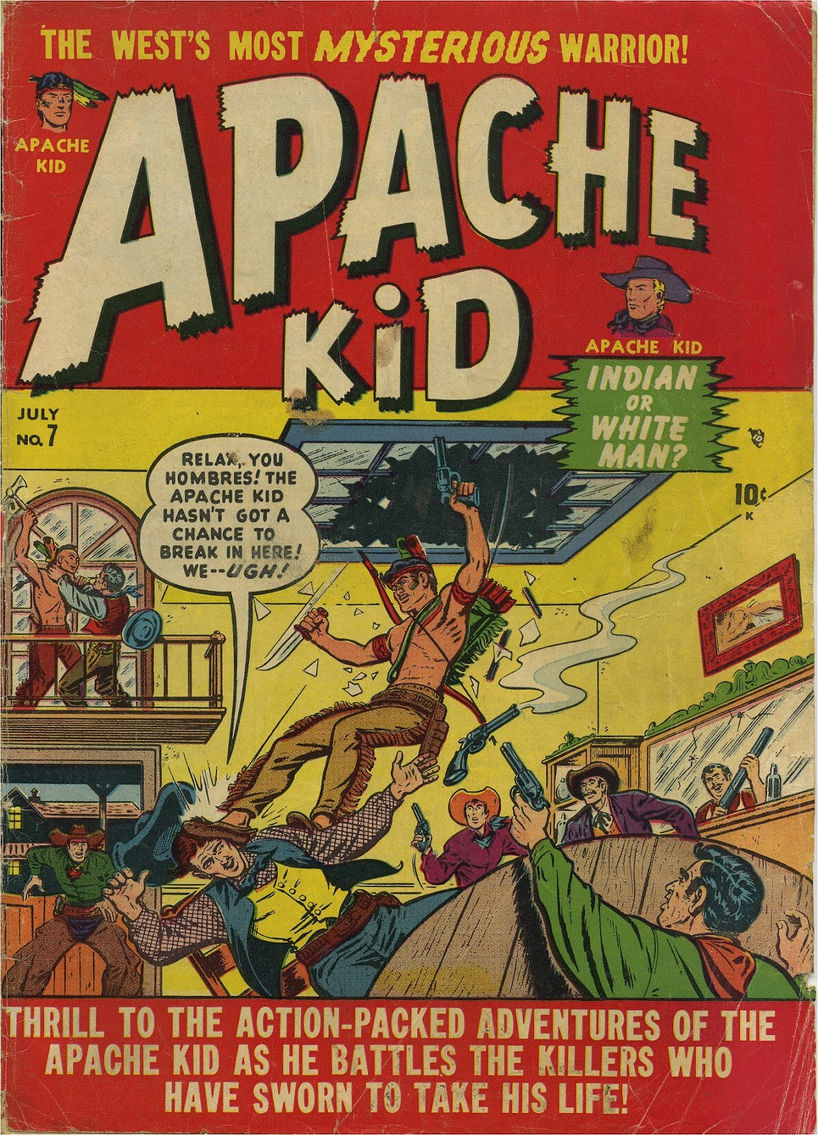 Apache Kid issue 7 - Page 1