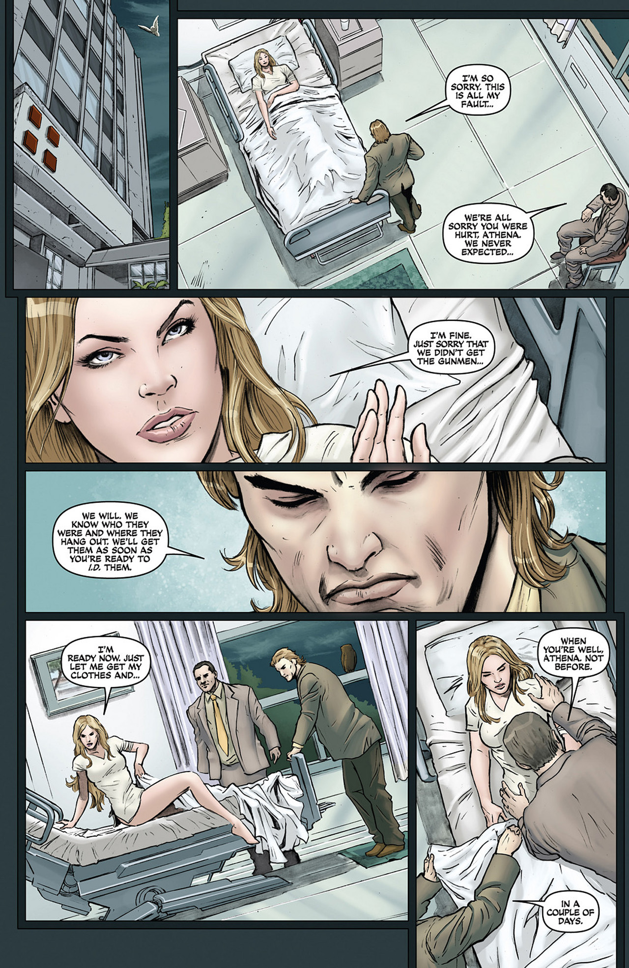 Read online Athena comic -  Issue #1 - 25