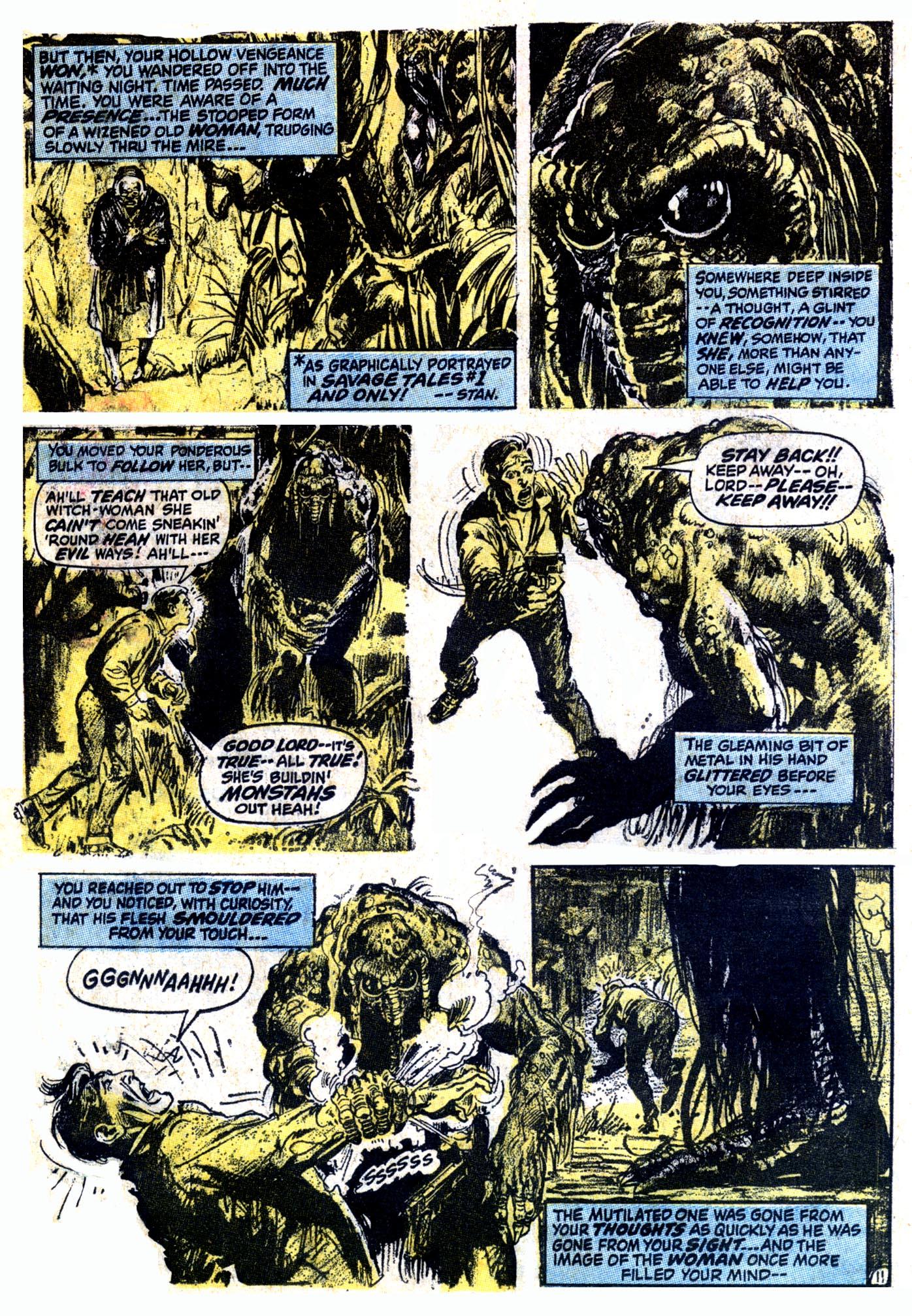 Read online Astonishing Tales (1970) comic -  Issue #12 - 12