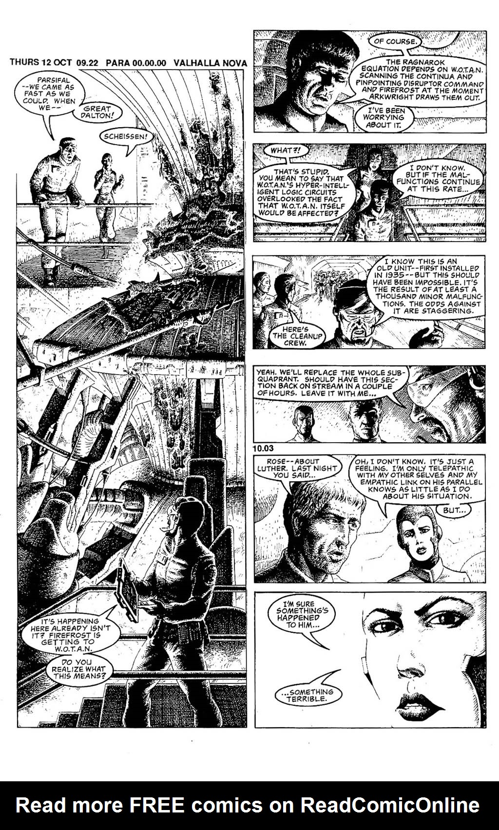 Read online The Adventures of Luther Arkwright comic -  Issue #5 - 20