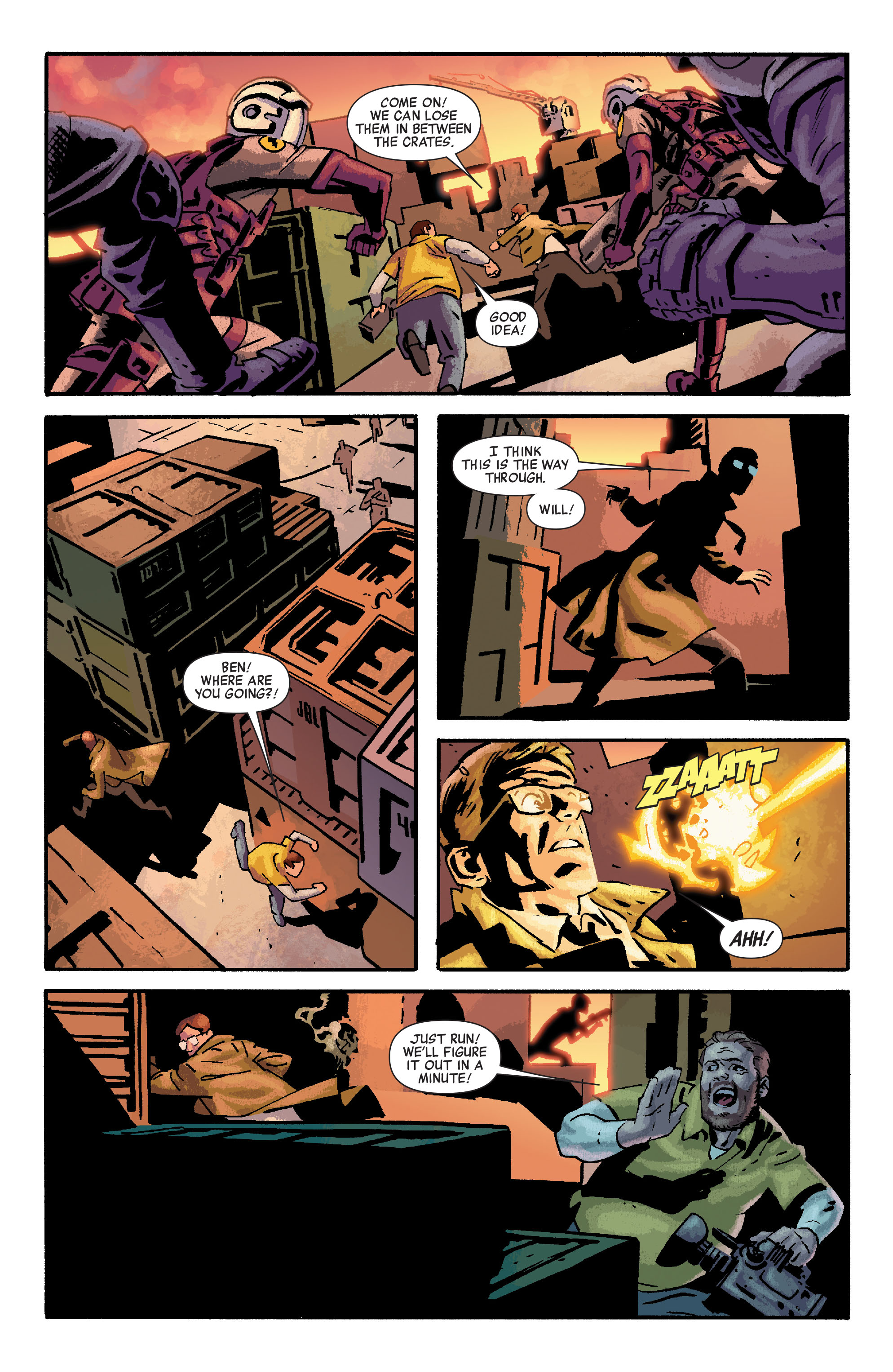 Read online Siege: Embedded comic -  Issue #3 - 4