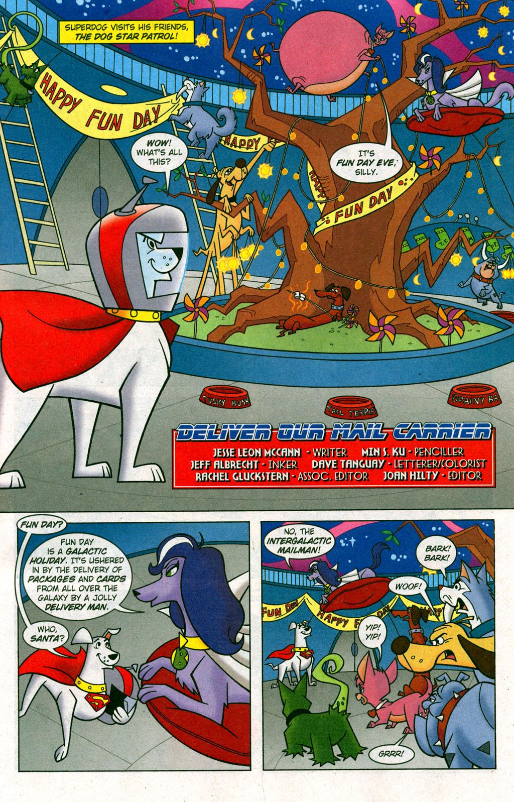Read online Krypto the Superdog comic -  Issue #6 - 2