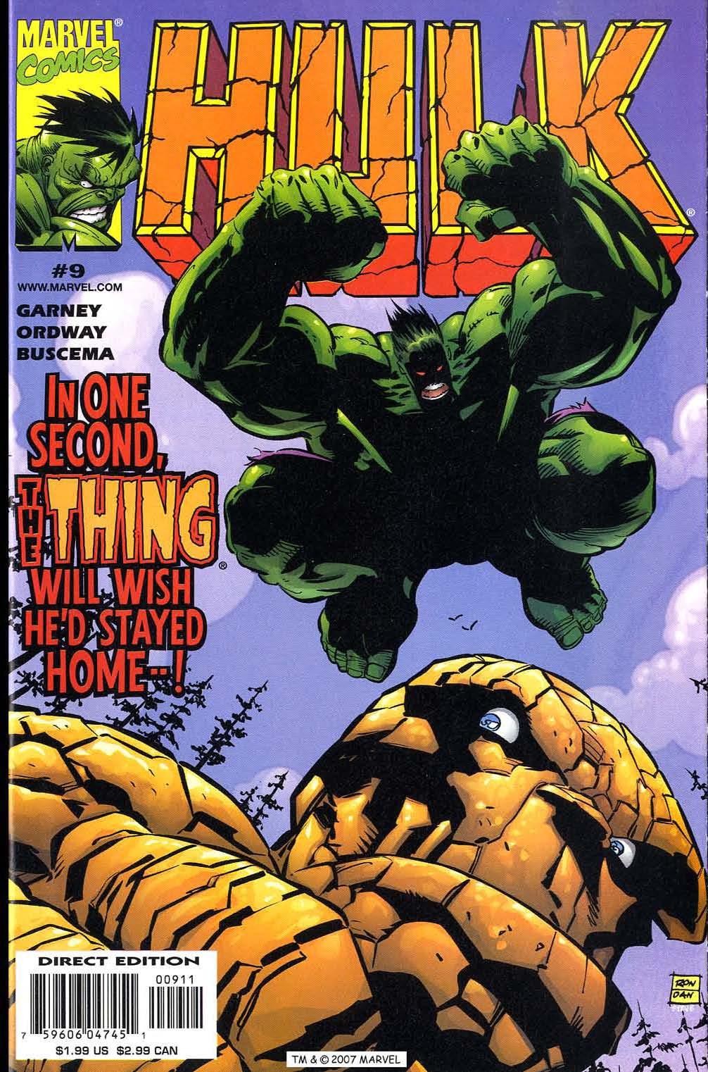 Hulk (1999) issue 9 - Page 1