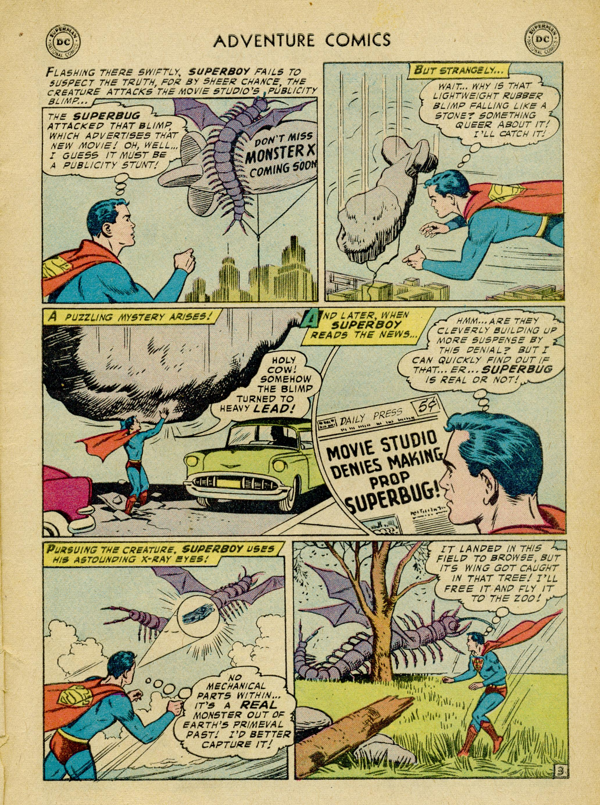 Read online Adventure Comics (1938) comic -  Issue #245 - 5