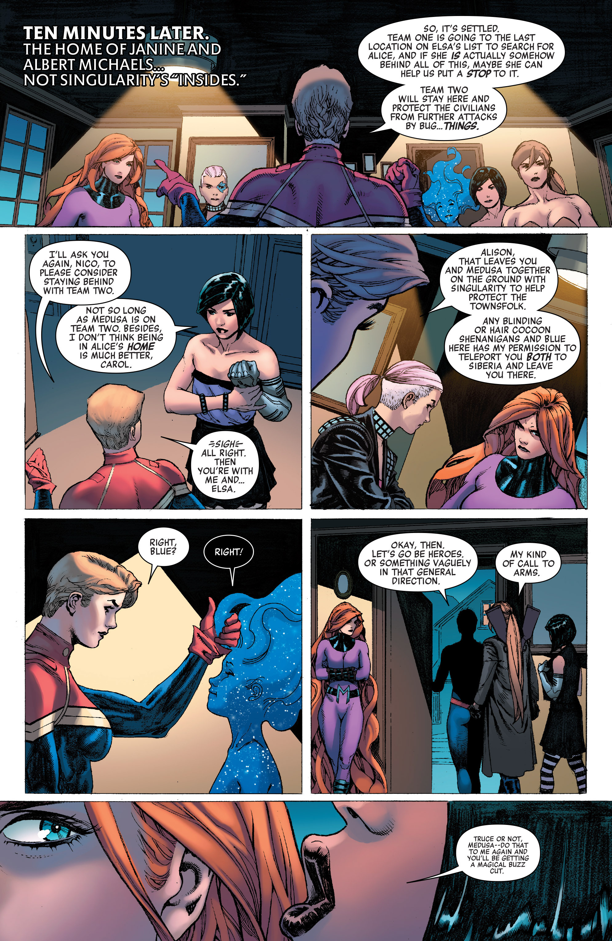 Read online A-Force (2016) comic -  Issue #9 - 8