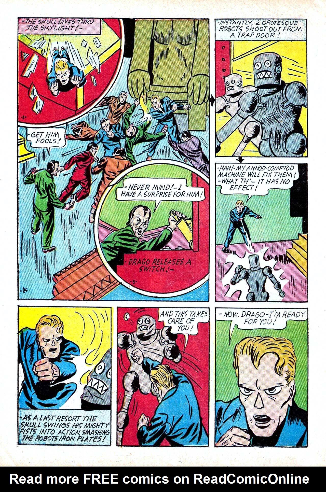 Read online Amazing Man Comics comic -  Issue #11 - 24