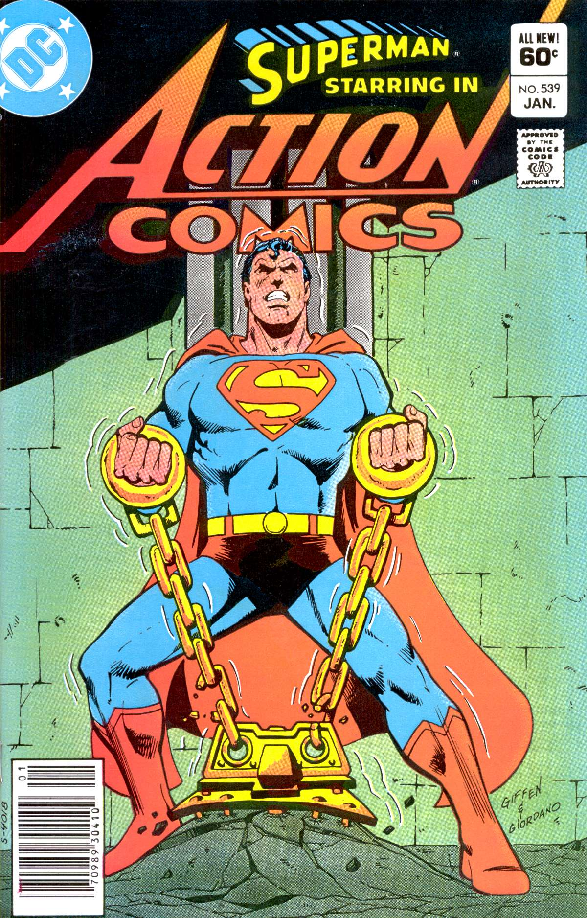 Read online Action Comics (1938) comic -  Issue #539 - 1