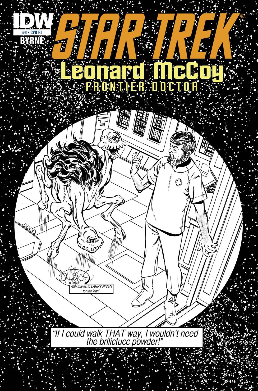 Read online Star Trek: Leonard McCoy, Frontier Doctor comic -  Issue #3 - 3