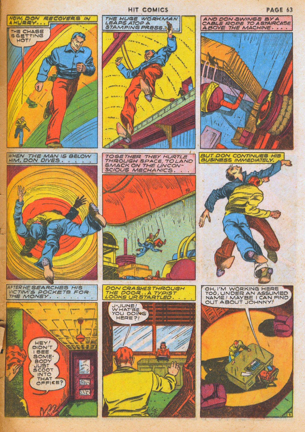 Read online Hit Comics comic -  Issue #12 - 65