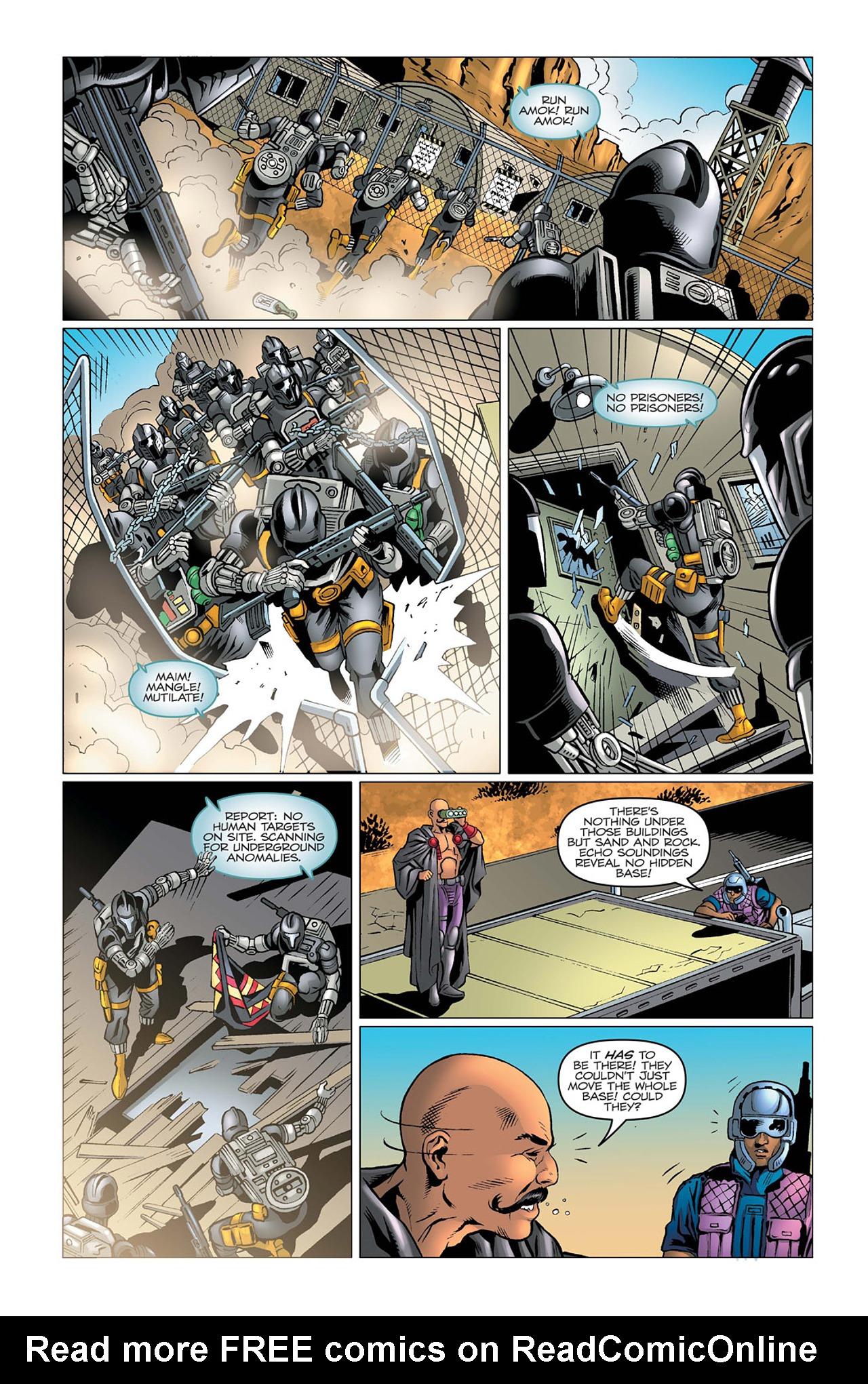 G.I. Joe: A Real American Hero 164 Page 11