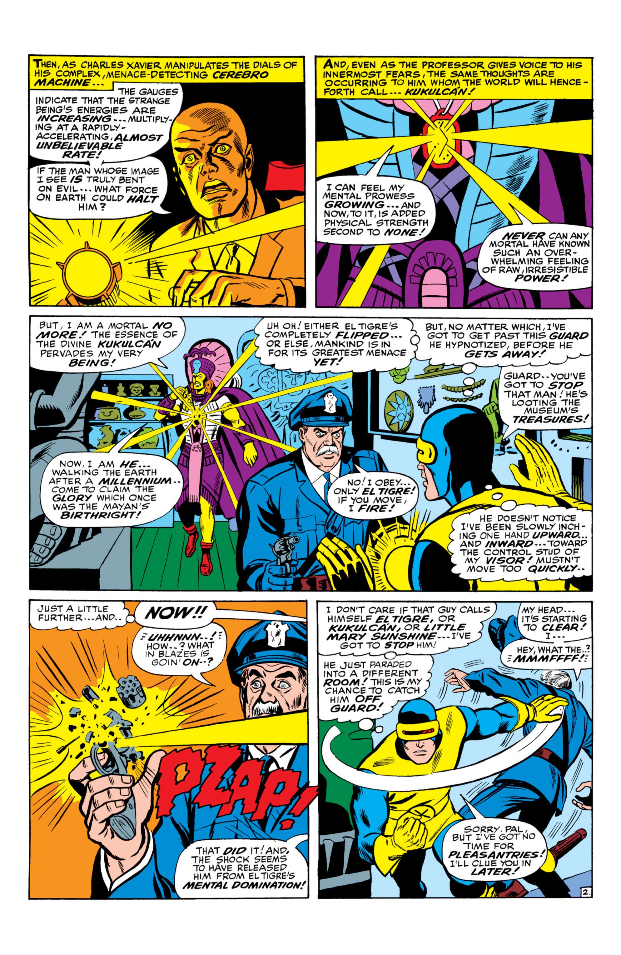 Read online Uncanny X-Men (1963) comic -  Issue #26 - 3