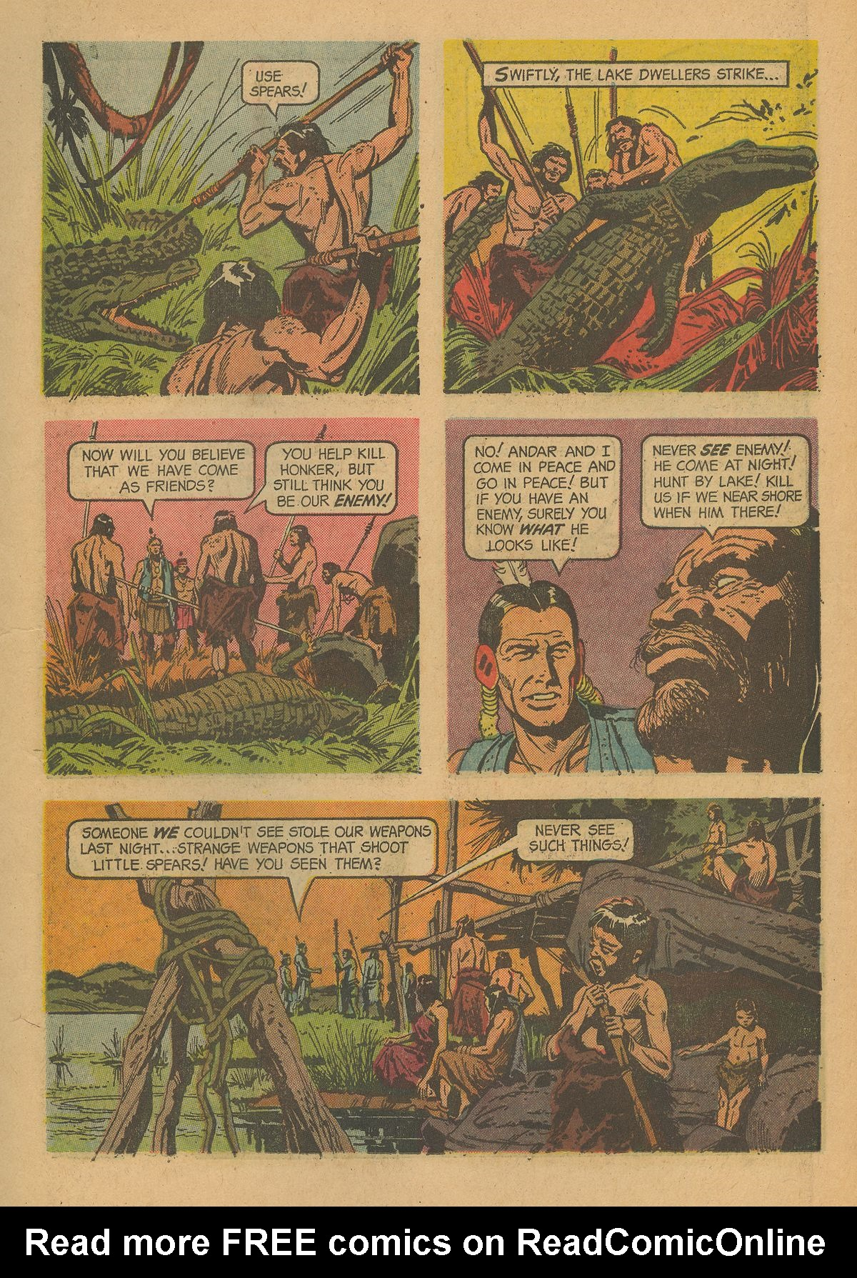 Read online Turok, Son of Stone comic -  Issue #43 - 11