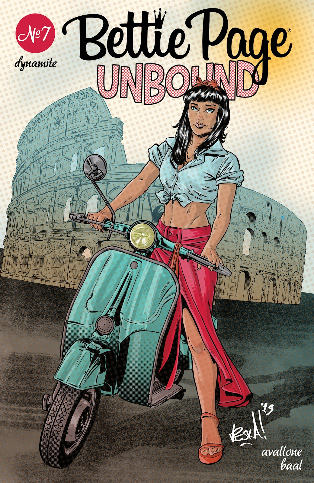 Read online Bettie Page: Unbound comic -  Issue #7 - 4