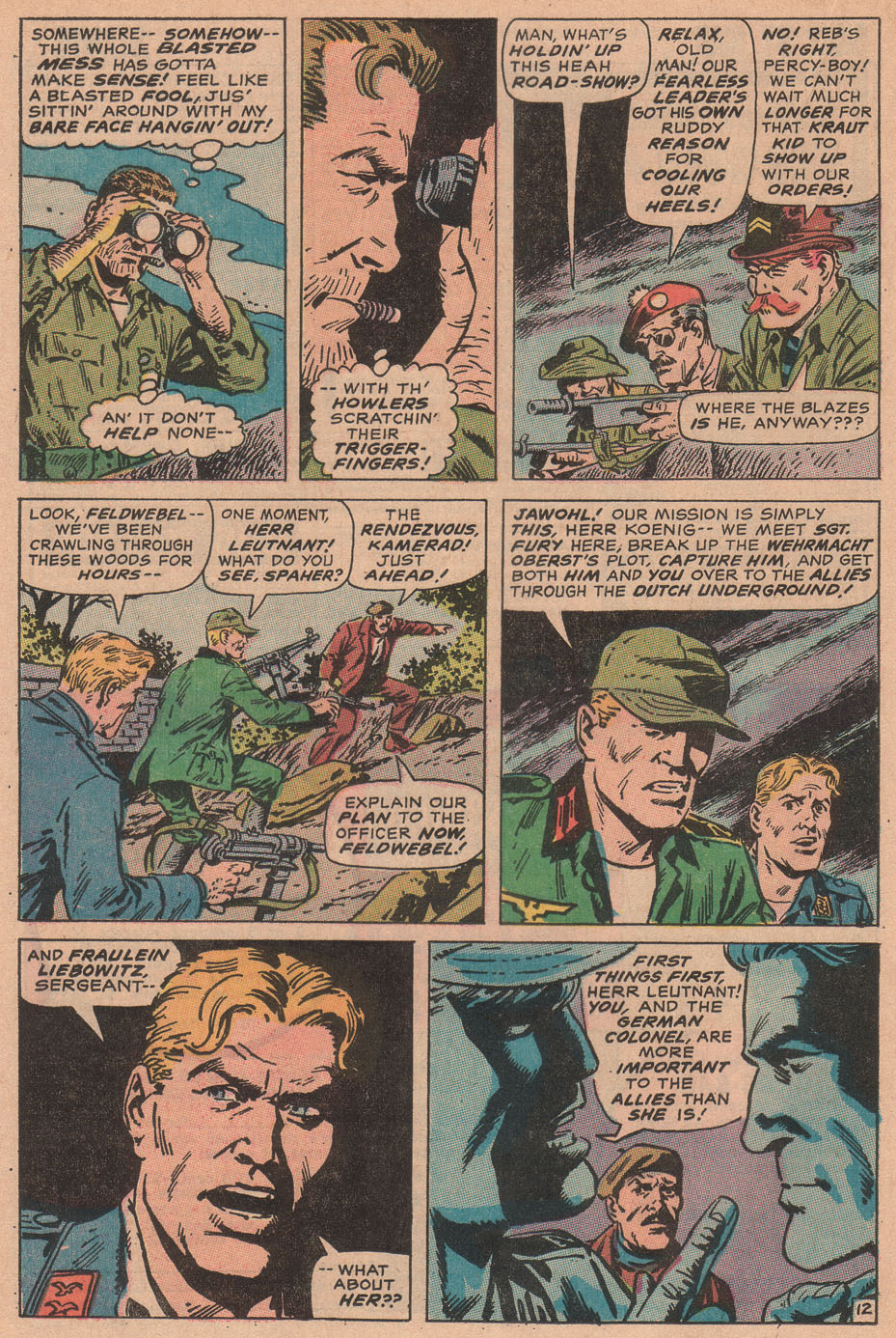 Read online Sgt. Fury comic -  Issue #78 - 20