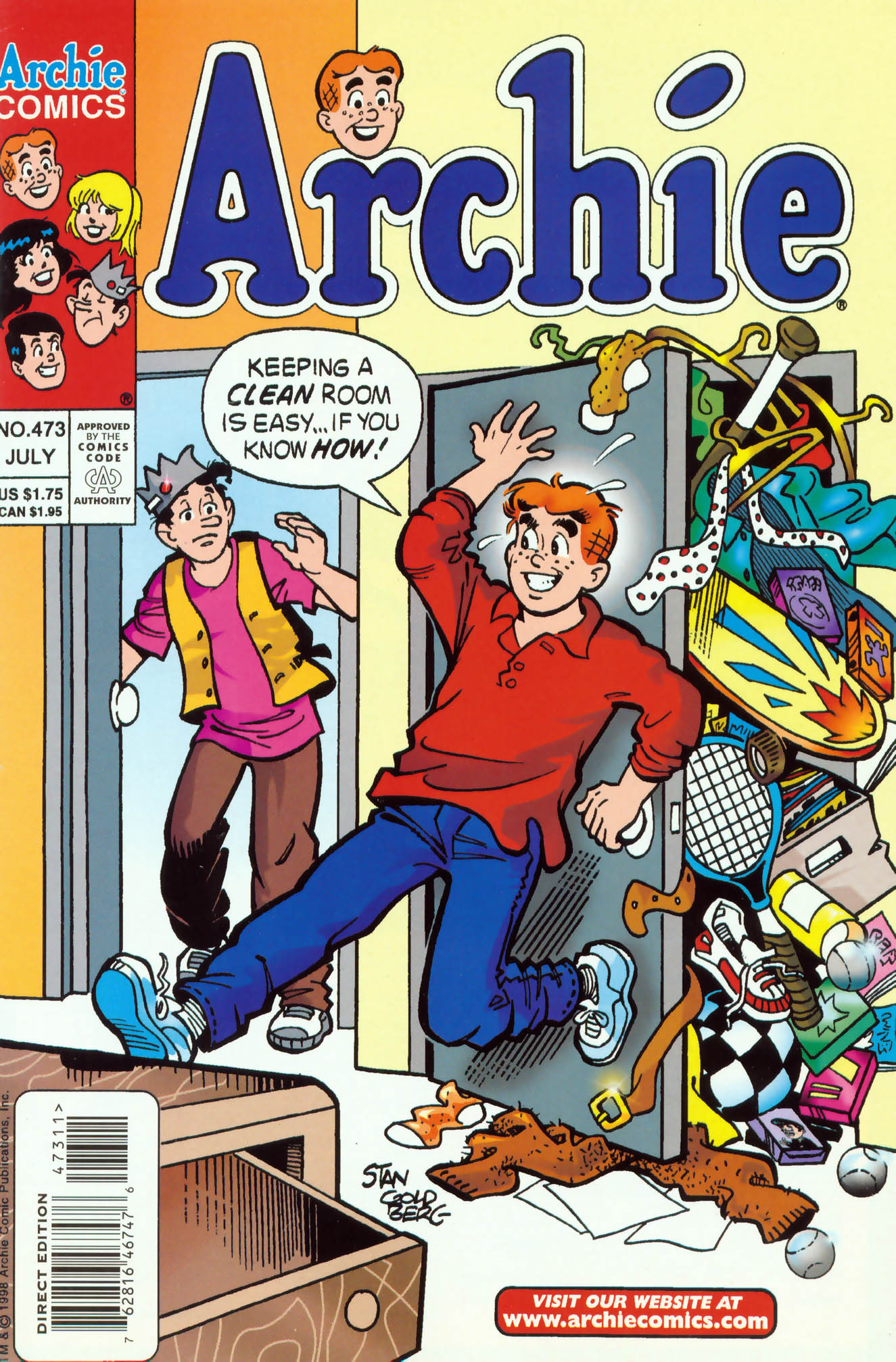 Read online Archie (1960) comic -  Issue #473 - 1