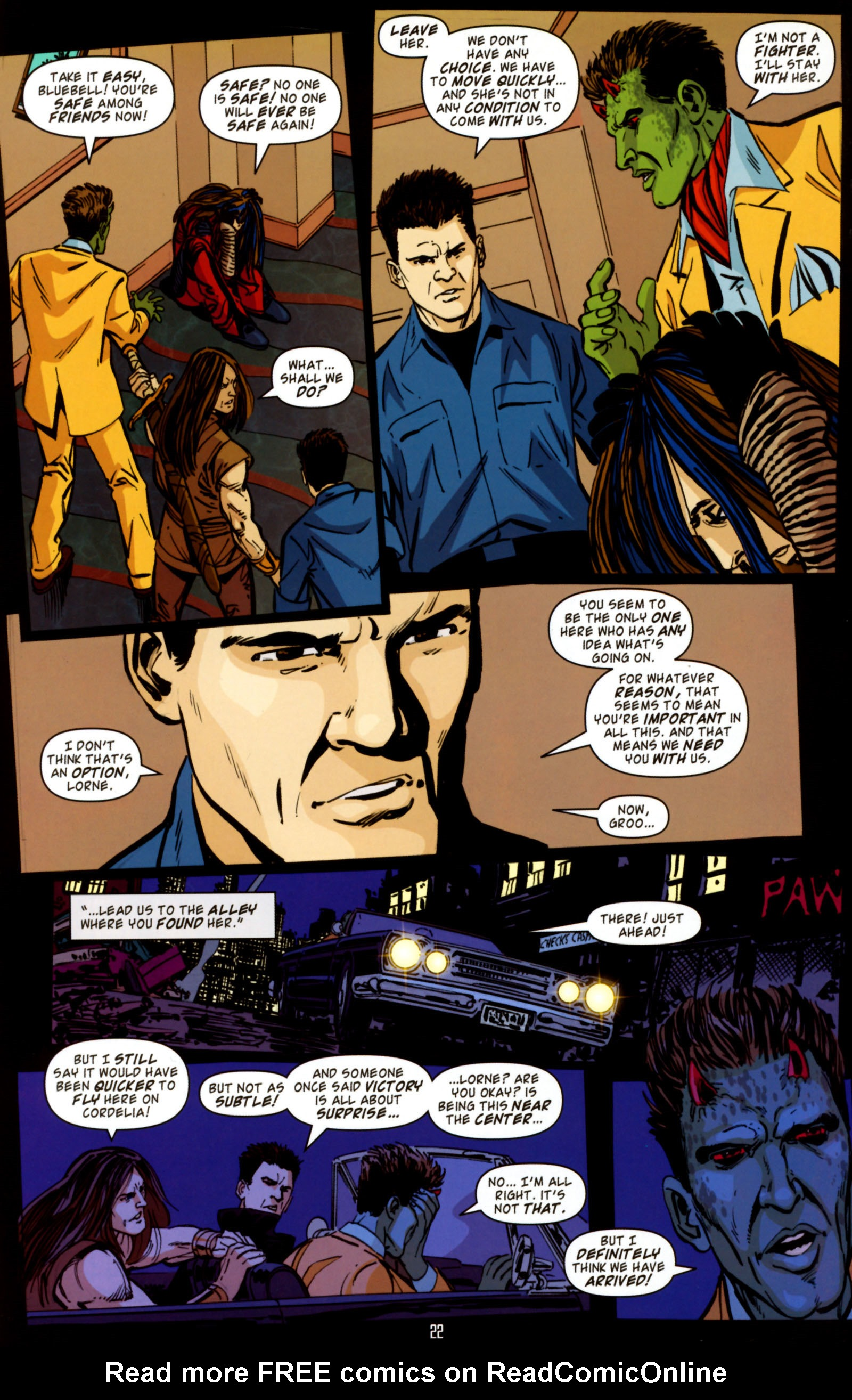 Read online Angel Special: Lorne comic -  Issue # Full - 23